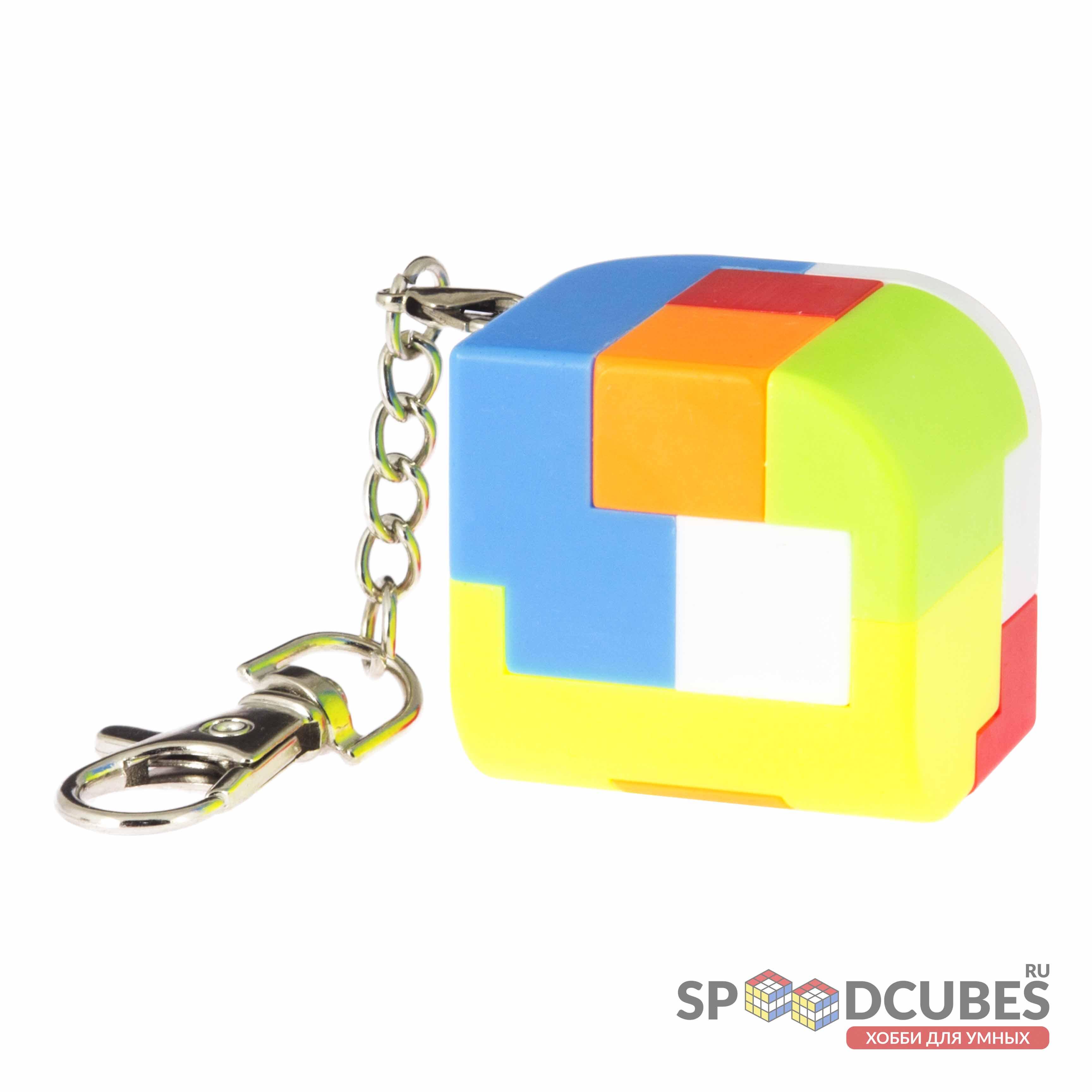 MoZhi кубик-конструктор Penrose брелок (цв)