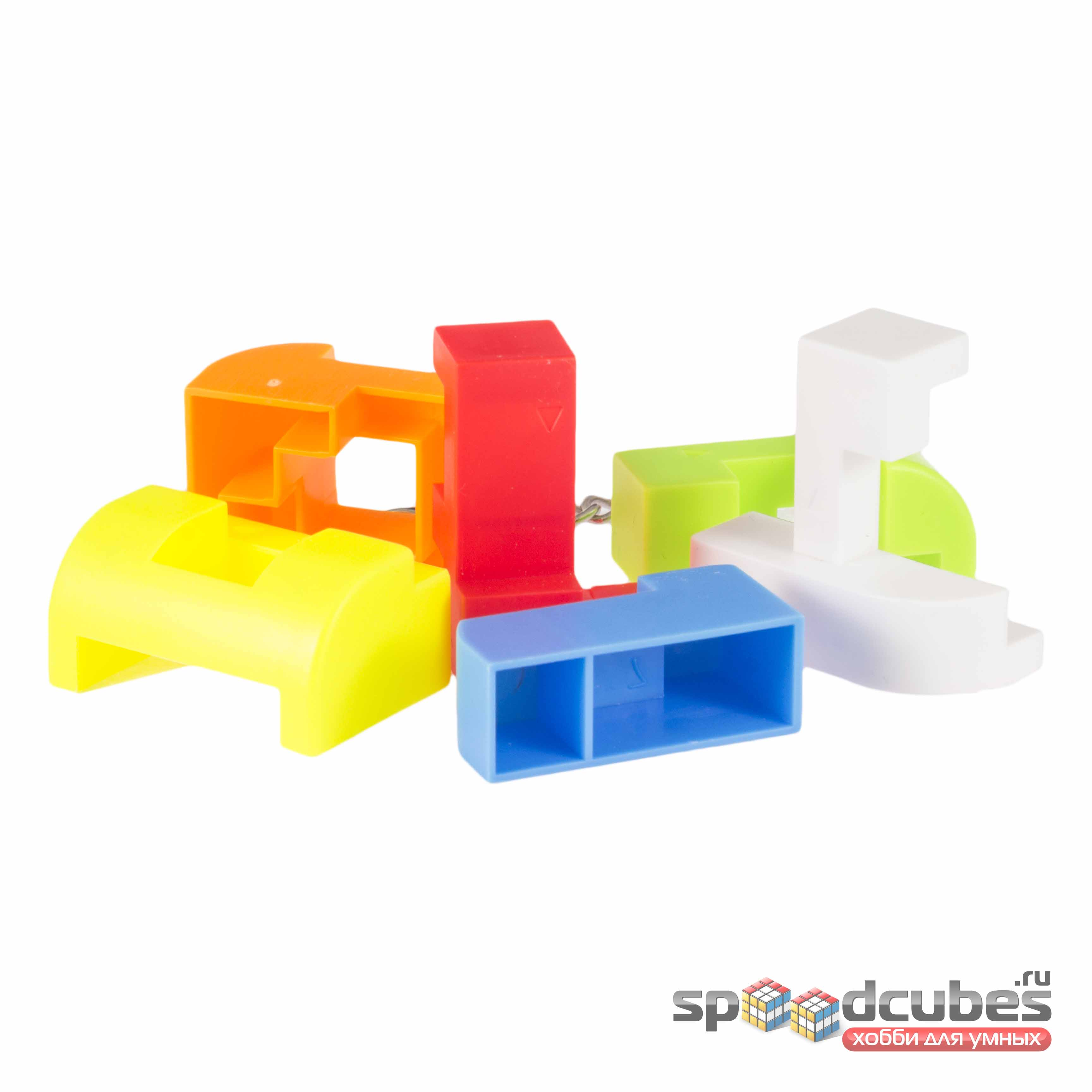 MoZhi кубик конструктор Color 2