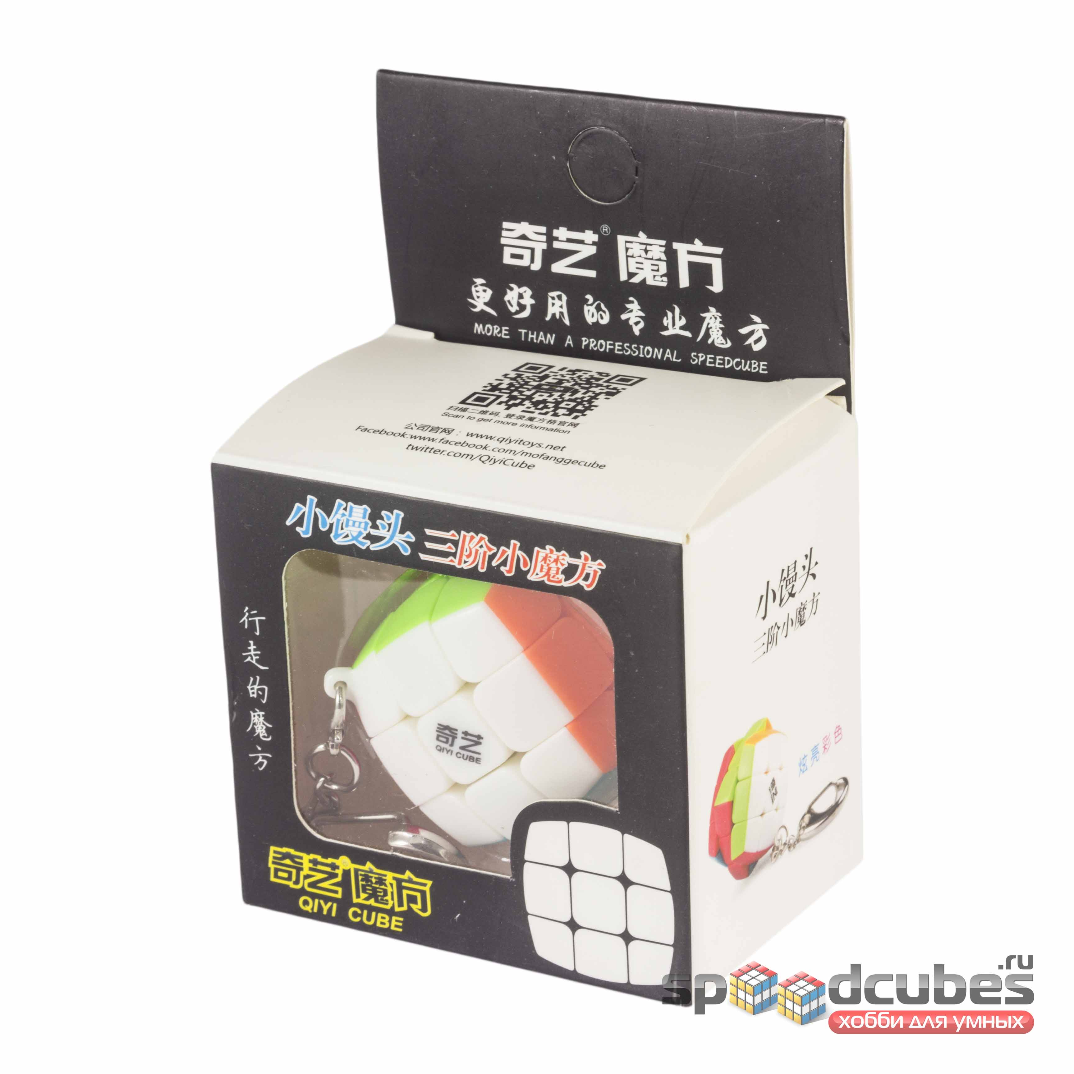 QiYi (MoFangGe) 3x3x3 30mm брелок Color 1