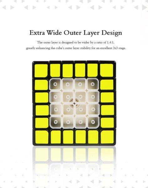 Qiyi x-man 6x6 shadow 6