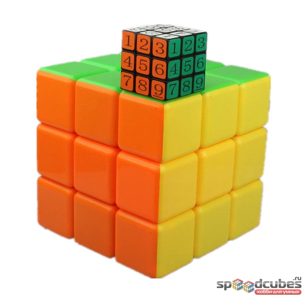 He Shu Rubiks Cube 3x3x3 2