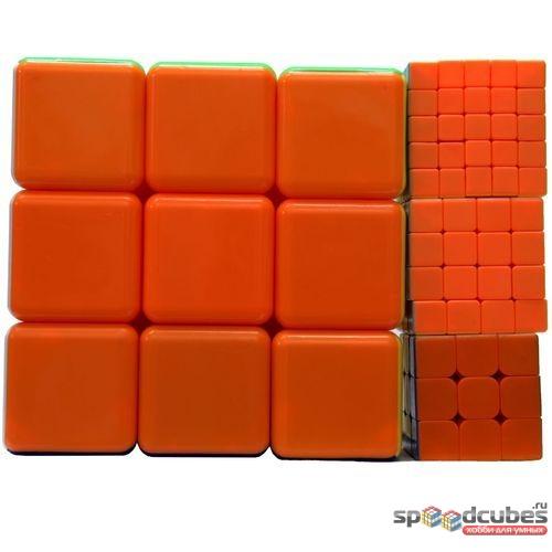 He Shu Rubiks Cube 3x3x3 3