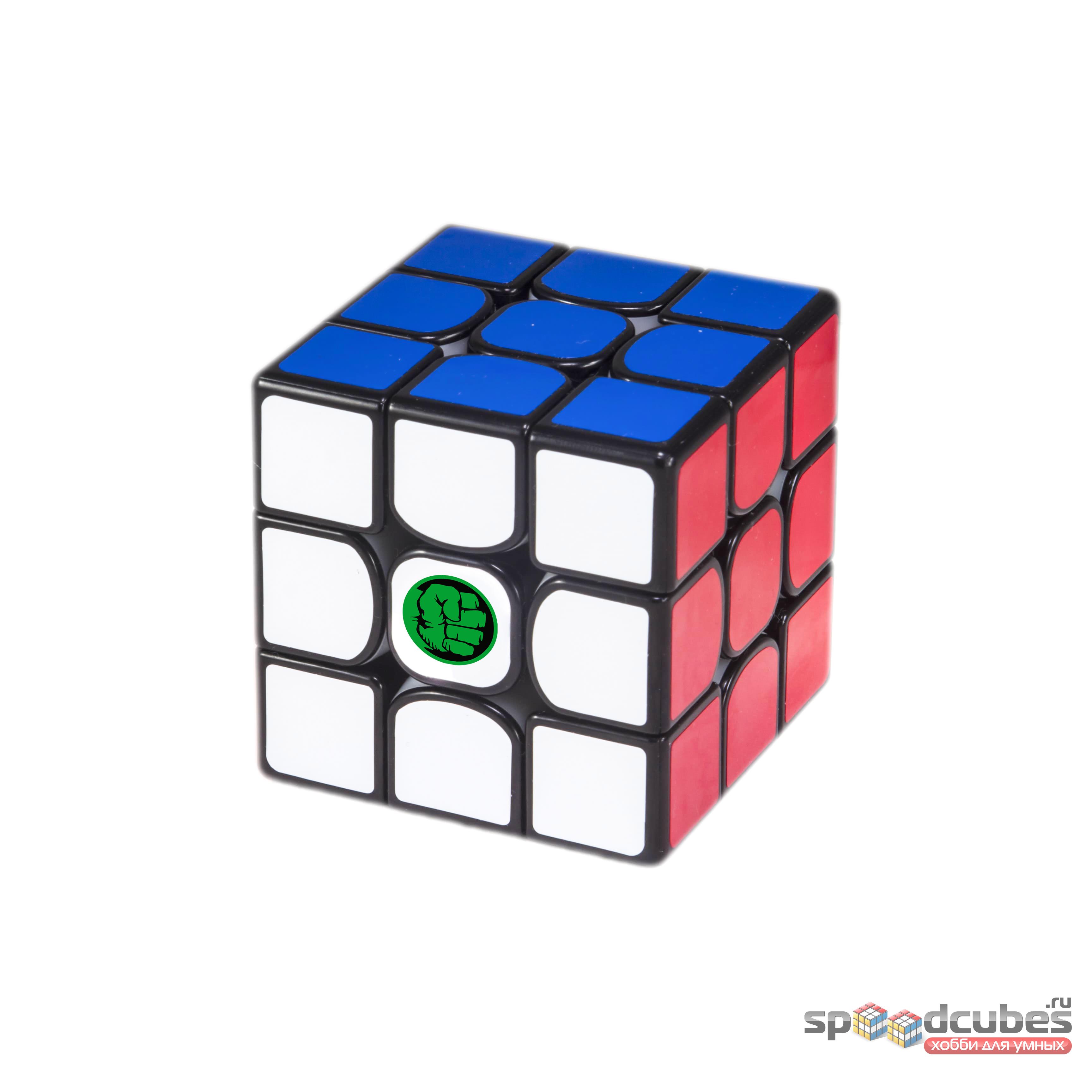 """Стикер на кубик """"Халк"""""""