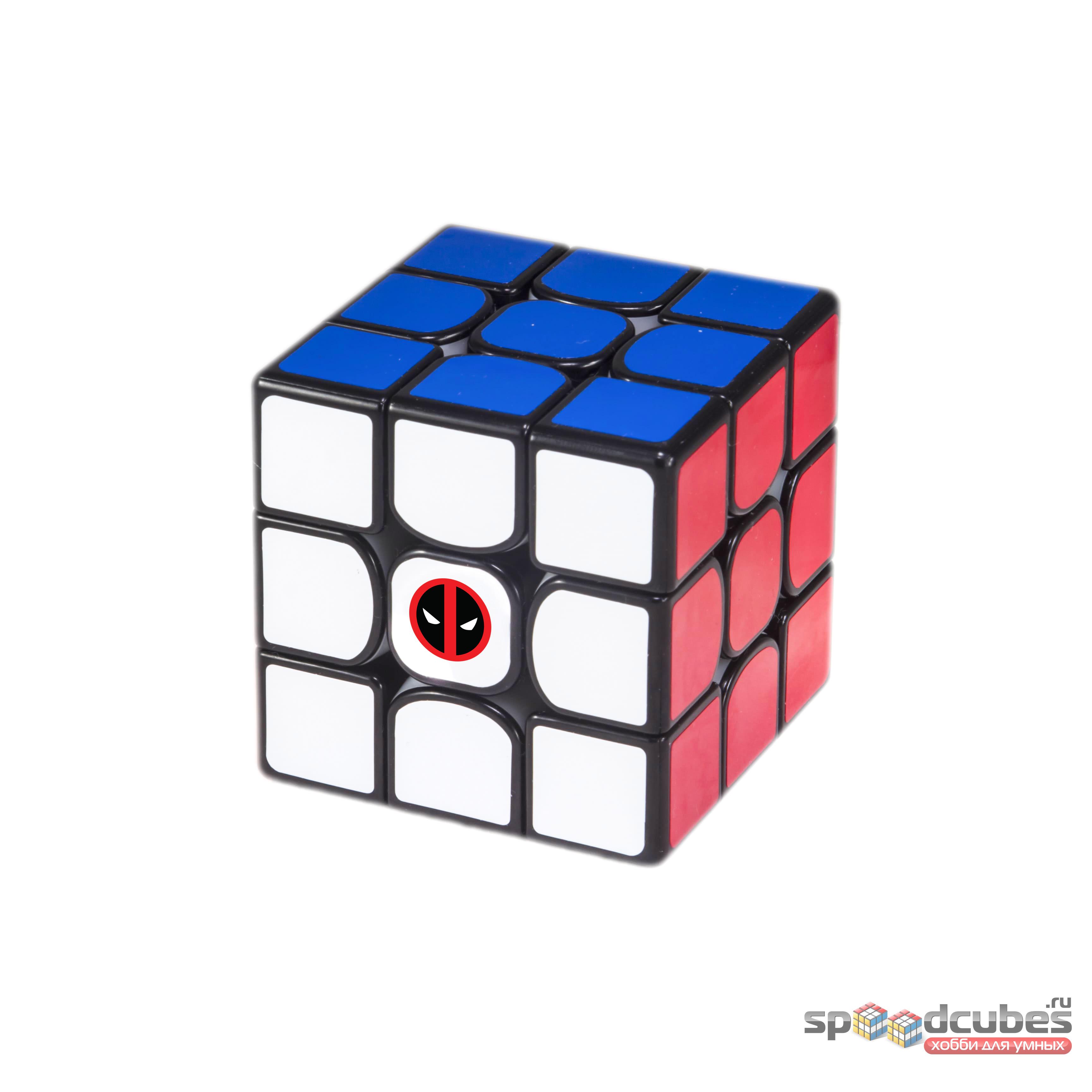 """Стикер на кубик """"Дедпул"""""""