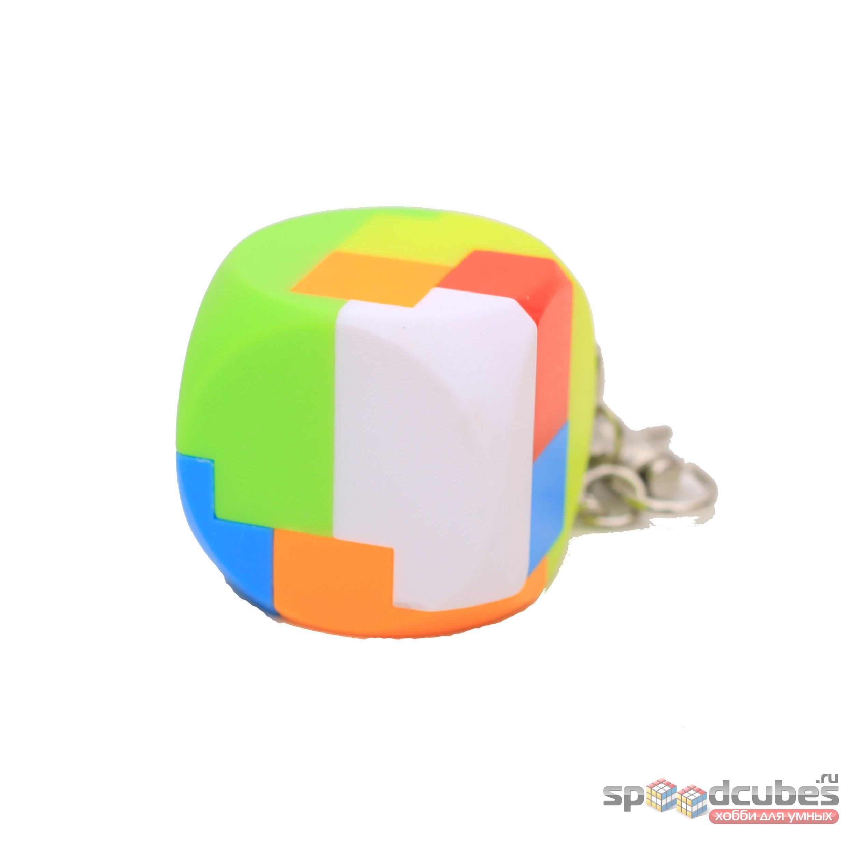 Mz 35x35mm Cube Keychain 1