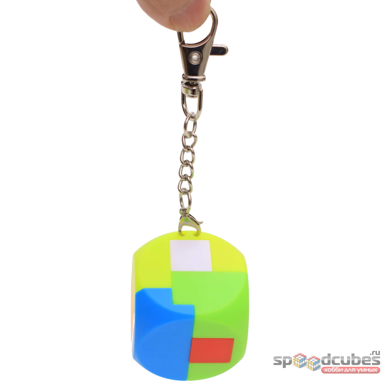 MoZhi кубик-конструктор брелок (цв)