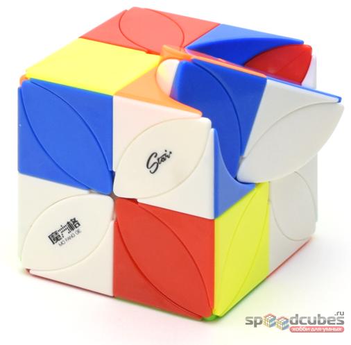 QiYi MoFangGe Clover Plus Cube (цв)