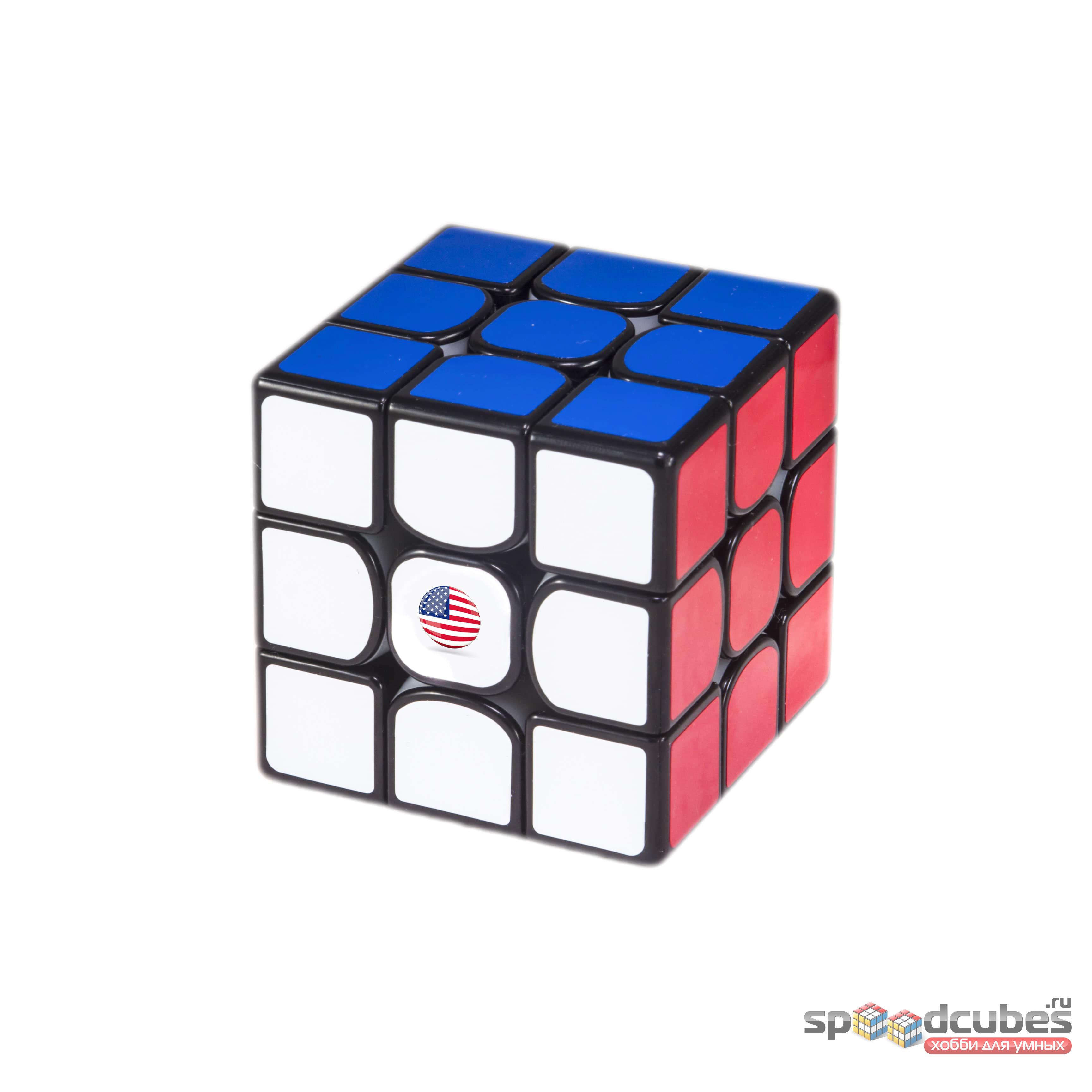 """Стикер на кубик """"USA"""""""