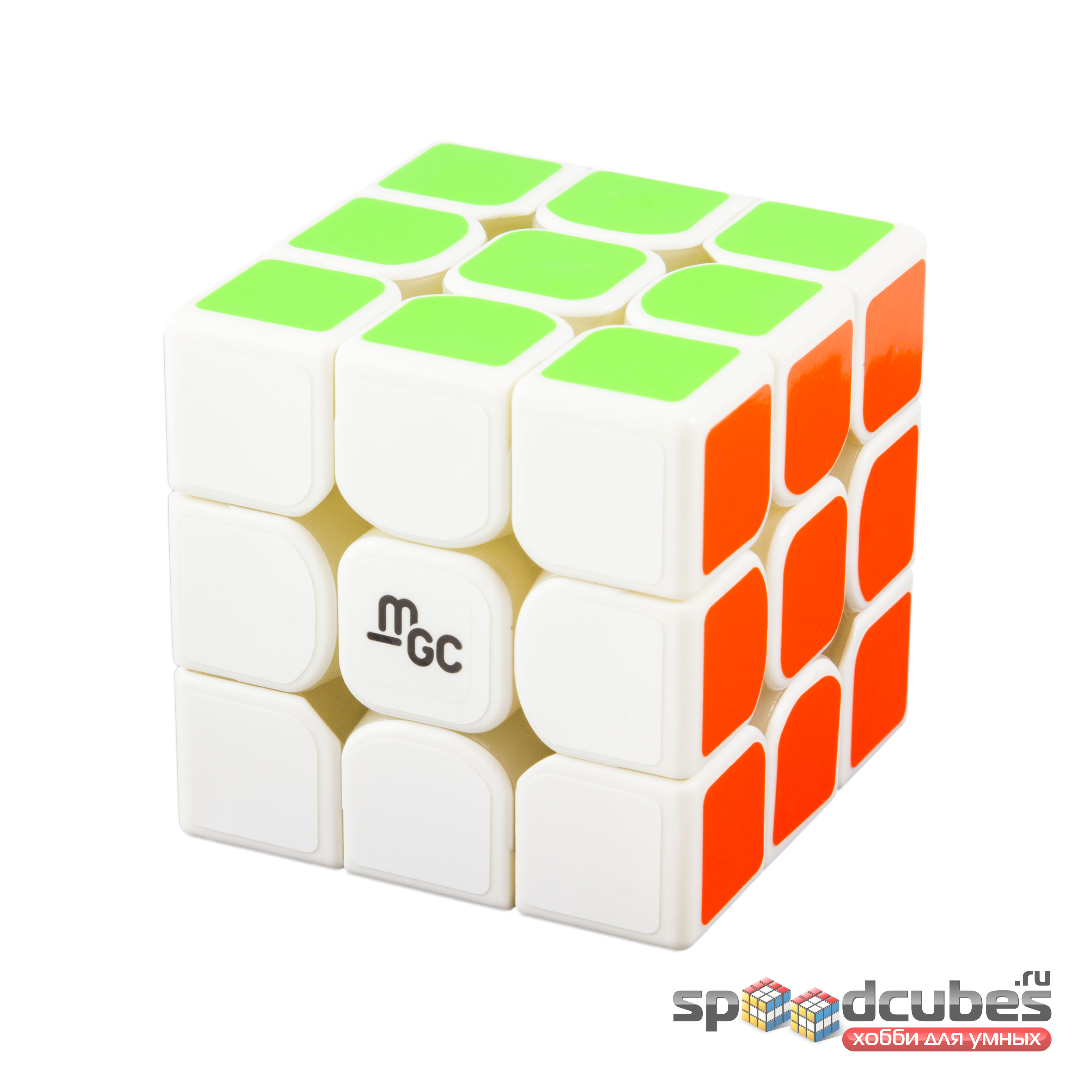 Yj Mgc 3x3x3 Magnetic 3 White