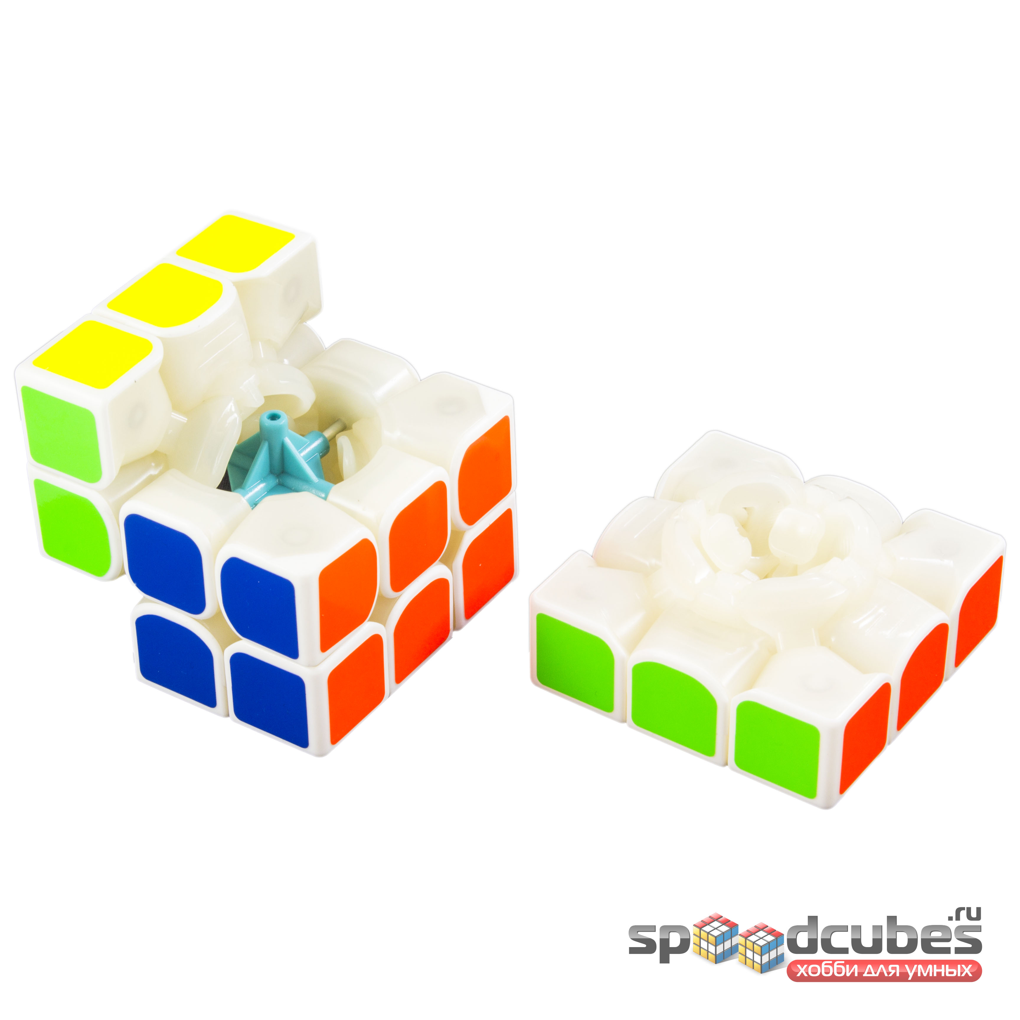 Yj Mgc 3x3x3 Magnetic 4 White