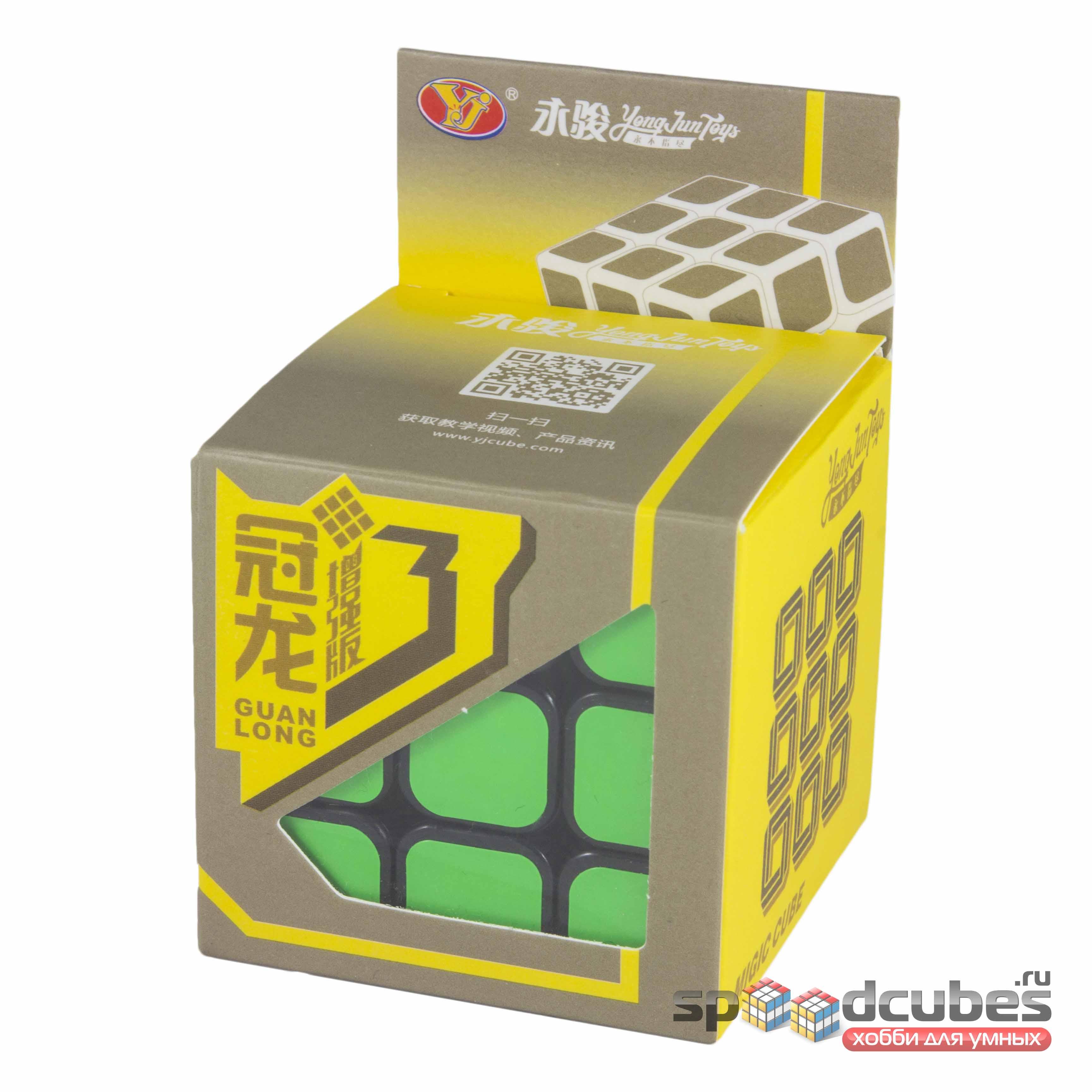 Moyu (yj) 3x3x3 Guanlong V3 Black 2