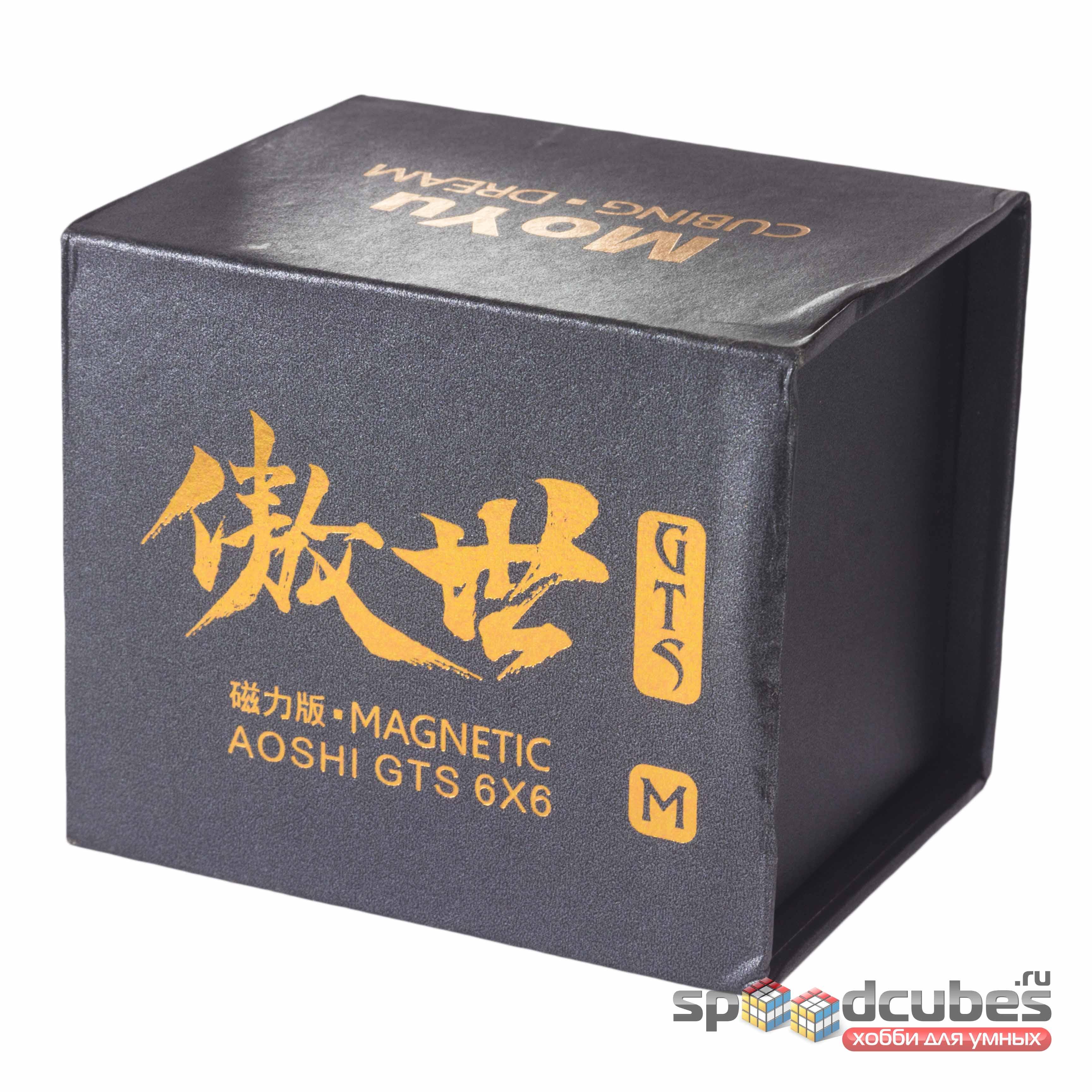 MoYu 6x6x6 Aoshi GTS M Black 1
