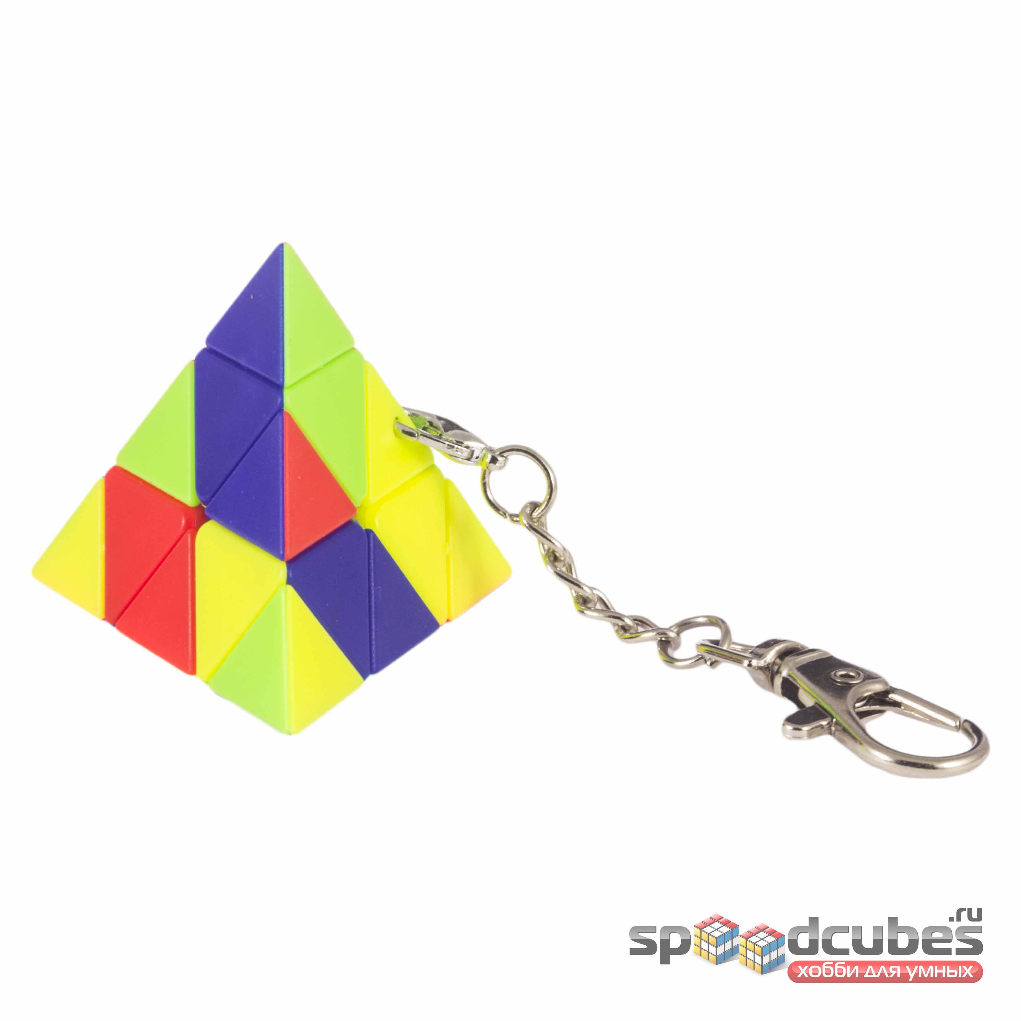 MoZhi Pyraminx брелок Color 2