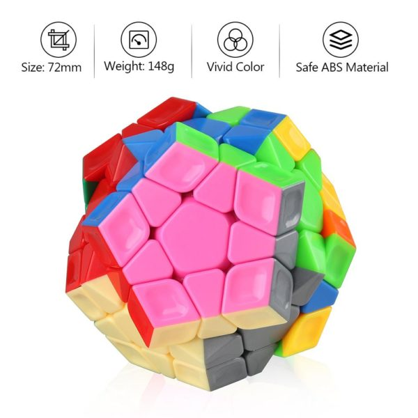 cyclone boys megaminx rainbow 3