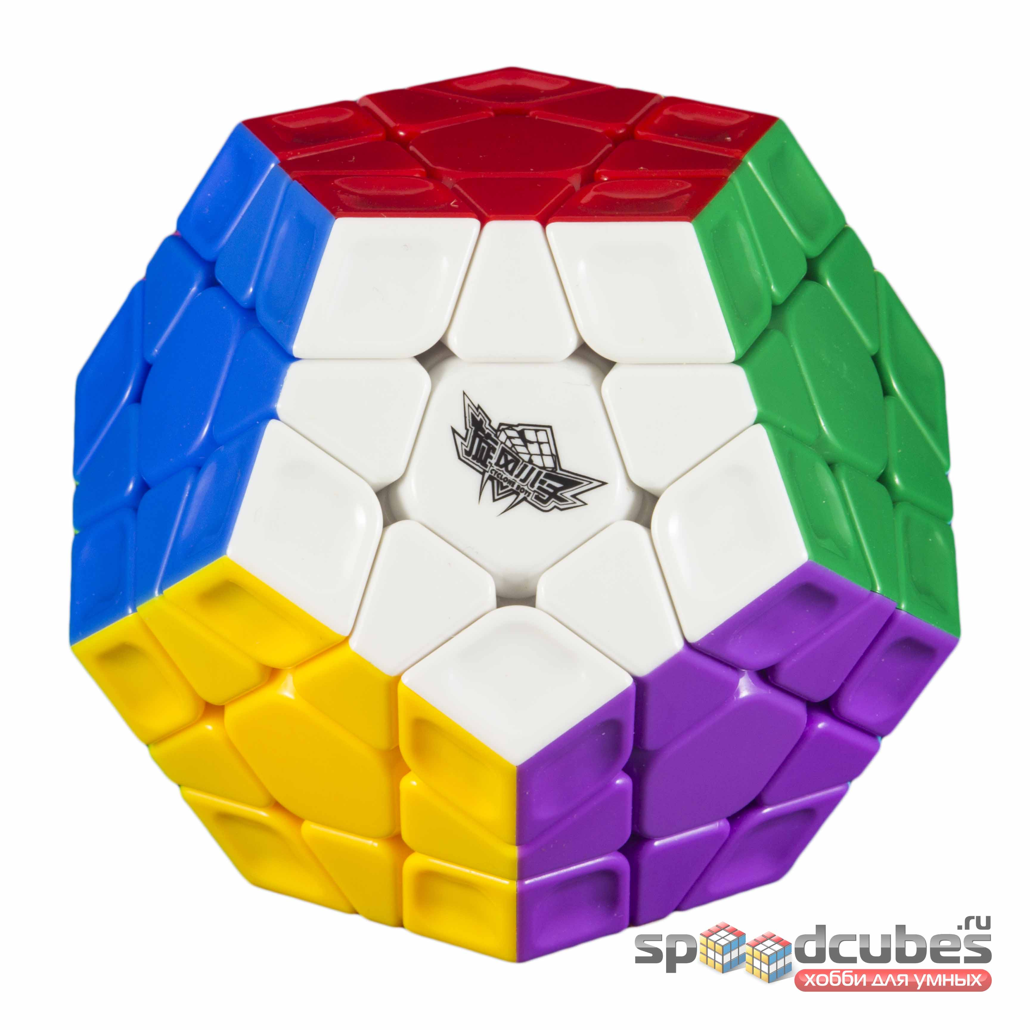 Cyclone Boys Megaminx Rainbow Color 2