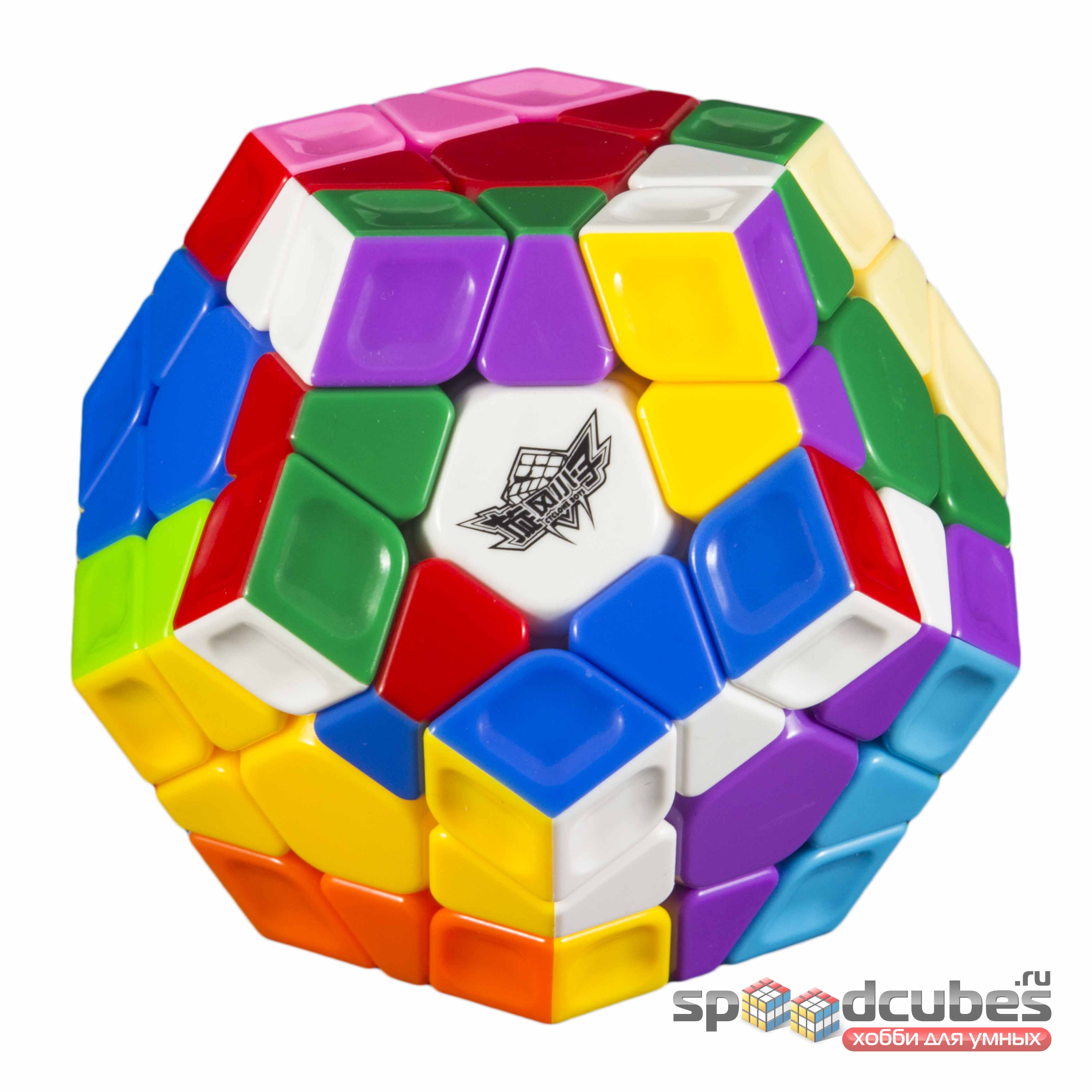 Cyclone Boys Megaminx Rainbow Color 3