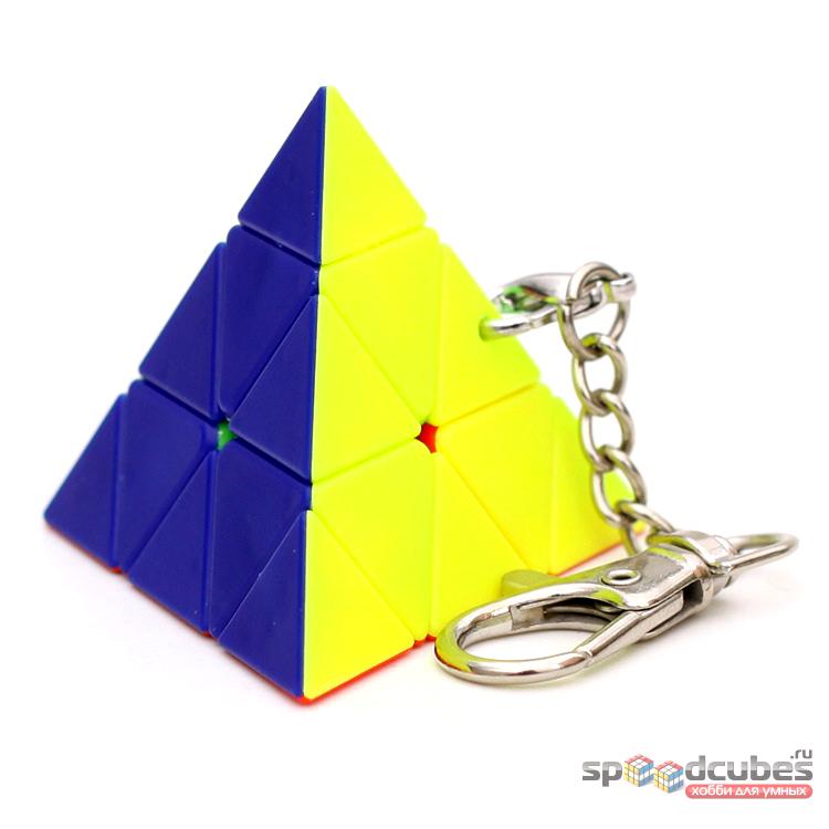 MoZhi Pyraminx брелок (цв)