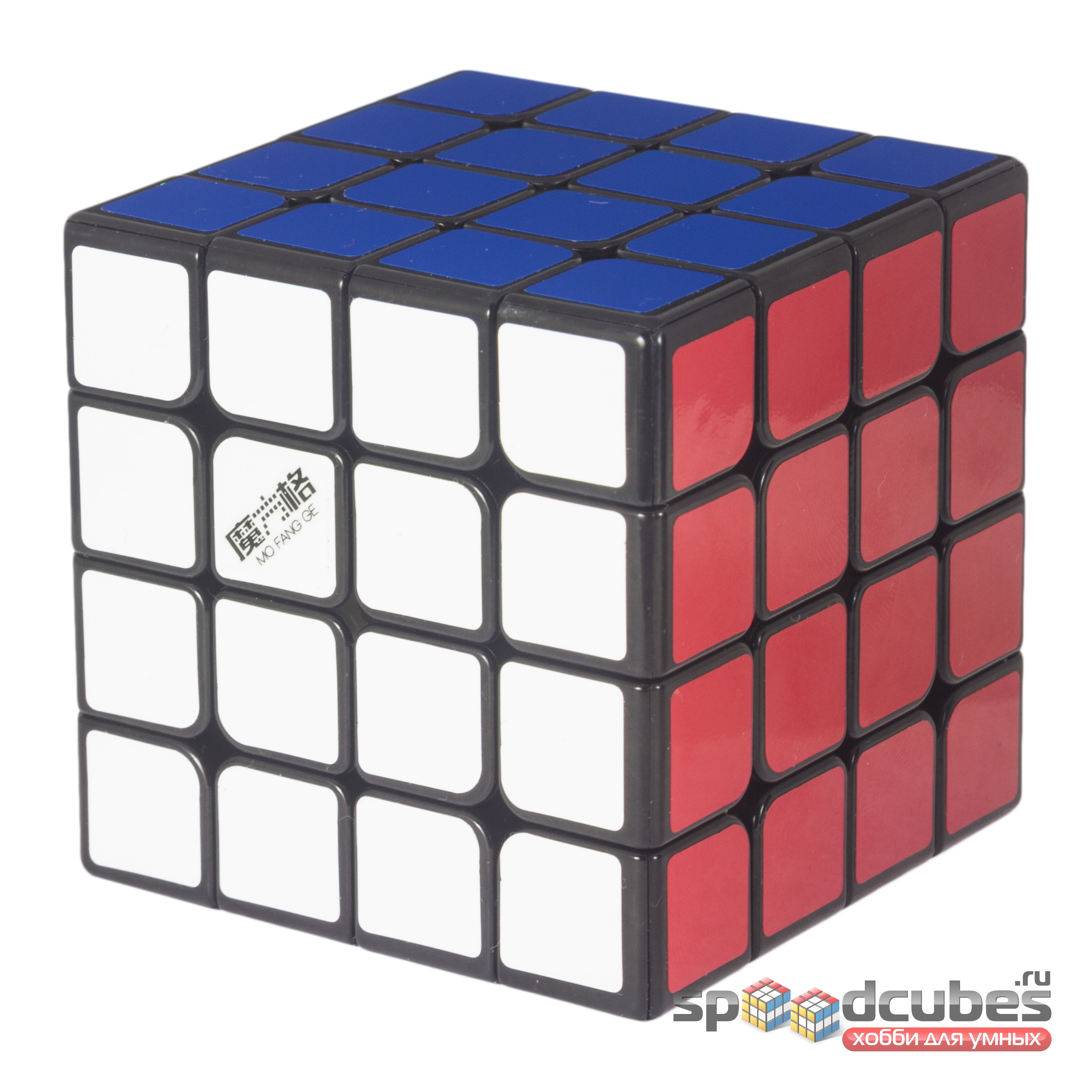 Qiyi Mofangge 4x4x4 Wuque Mini Black 3
