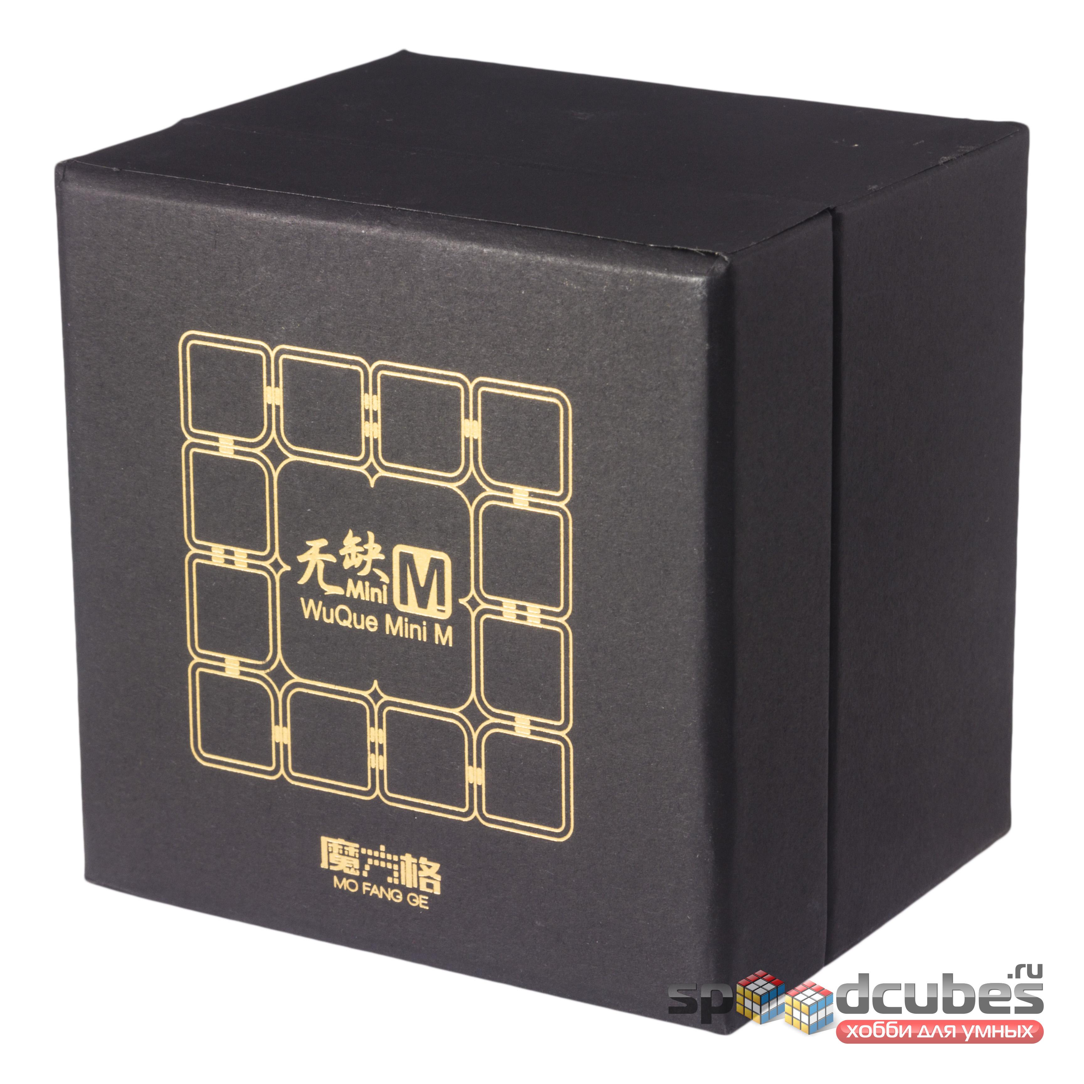 Qiyi Mofangge 4x4x4 Wuque Mini M Black 1