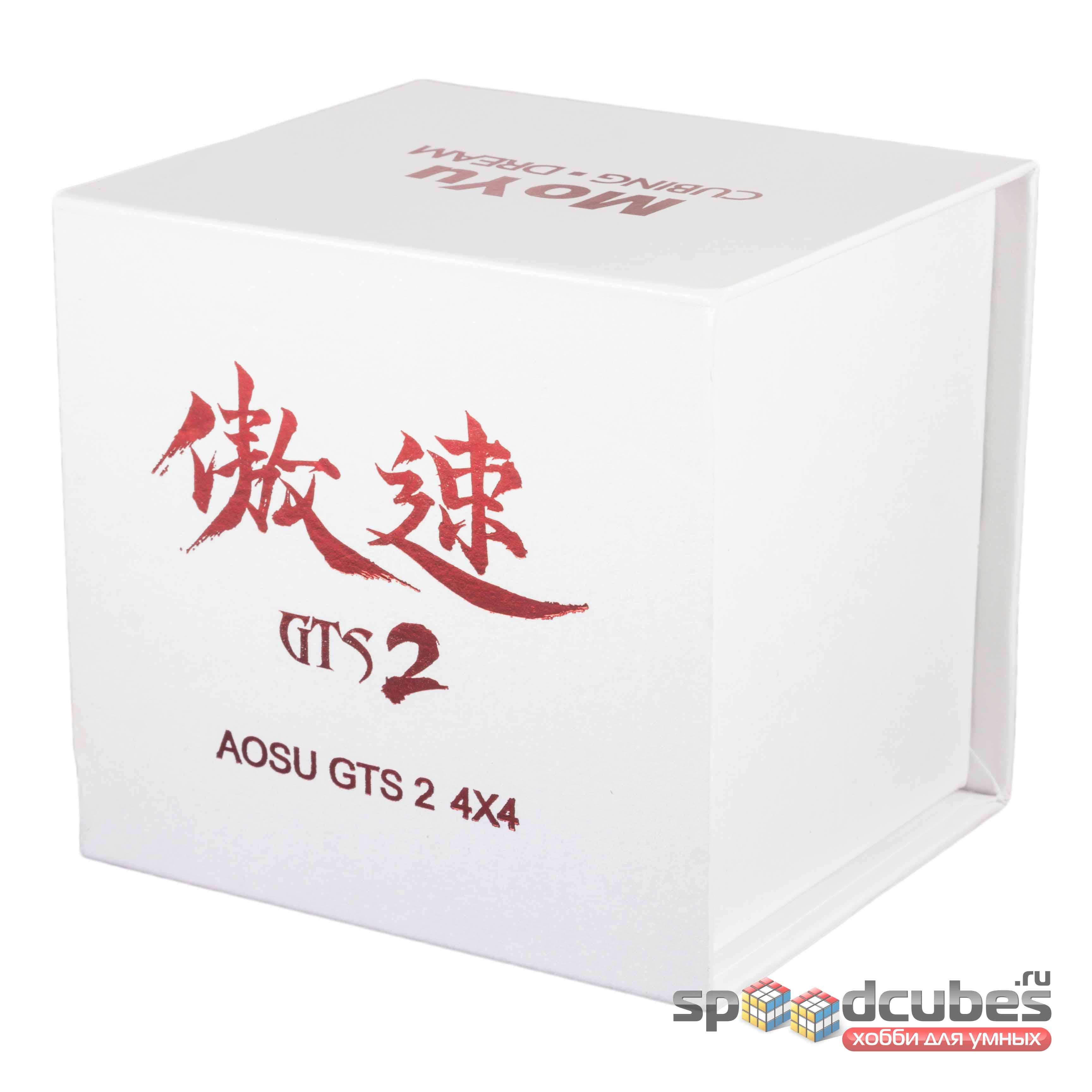 MoYu 4x4x4 Aosu GTS2 Black 1