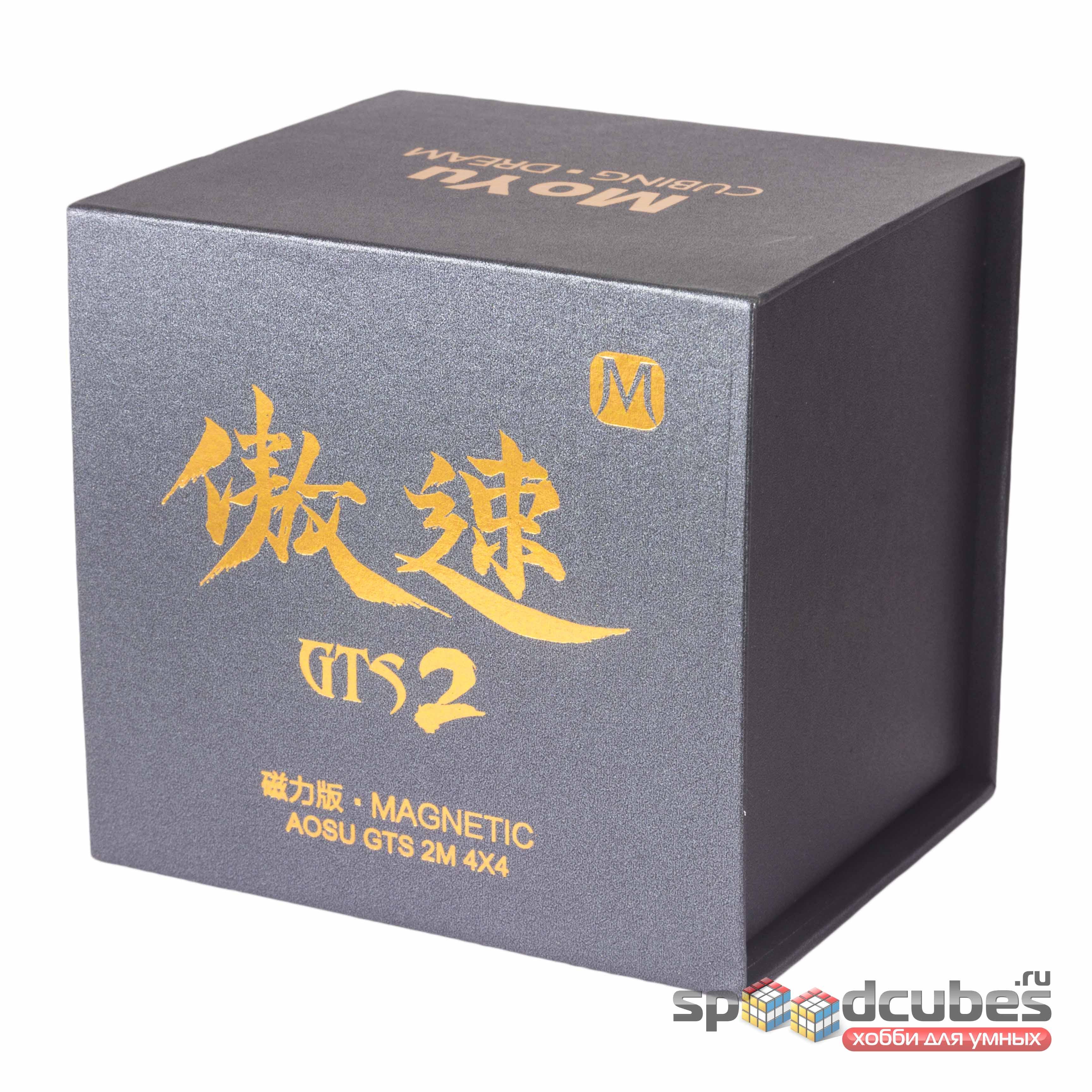 MoYu 4x4x4 Aosu GTS2 M Black 1