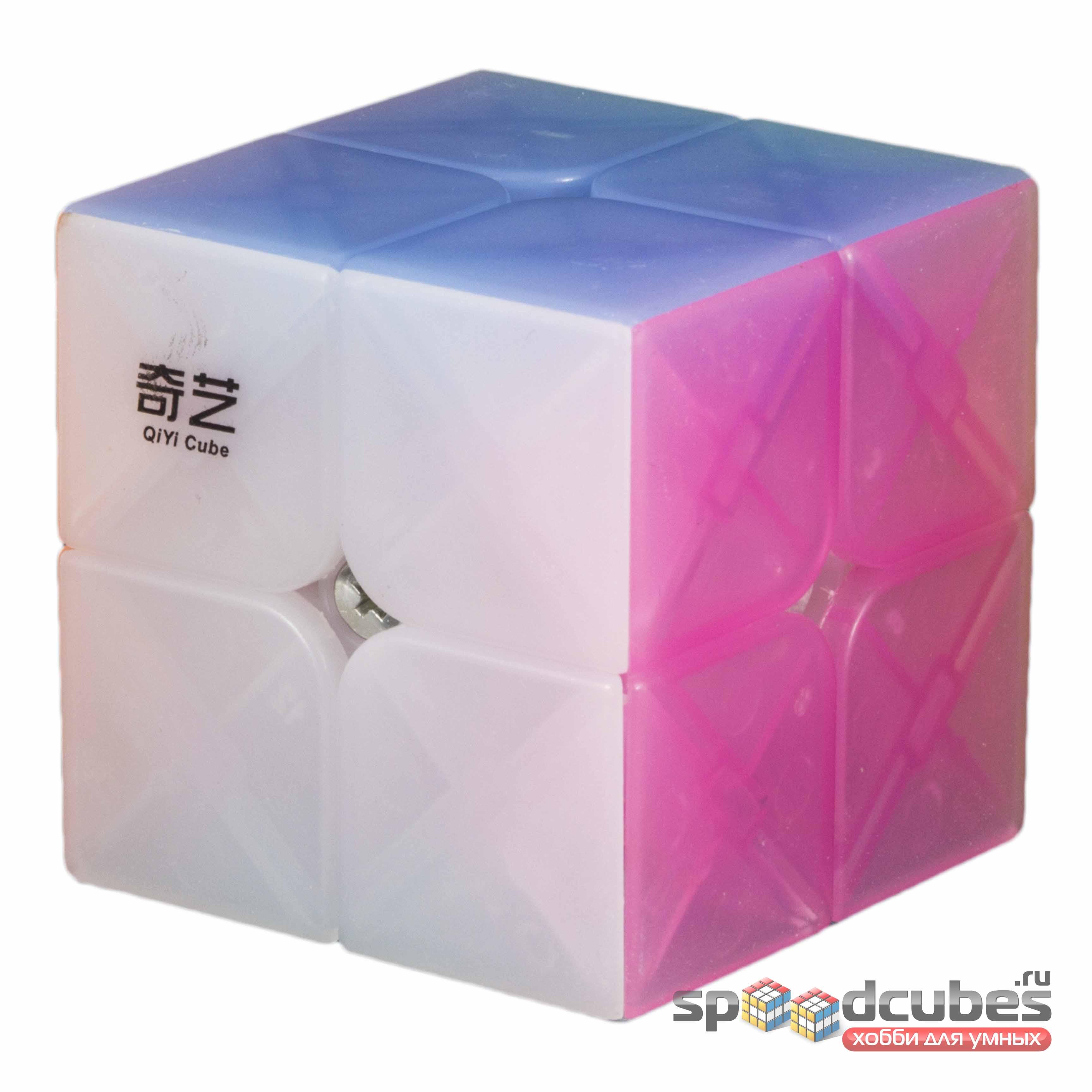 QiYi (MofangGe) 2x2x2 Jelly Cube
