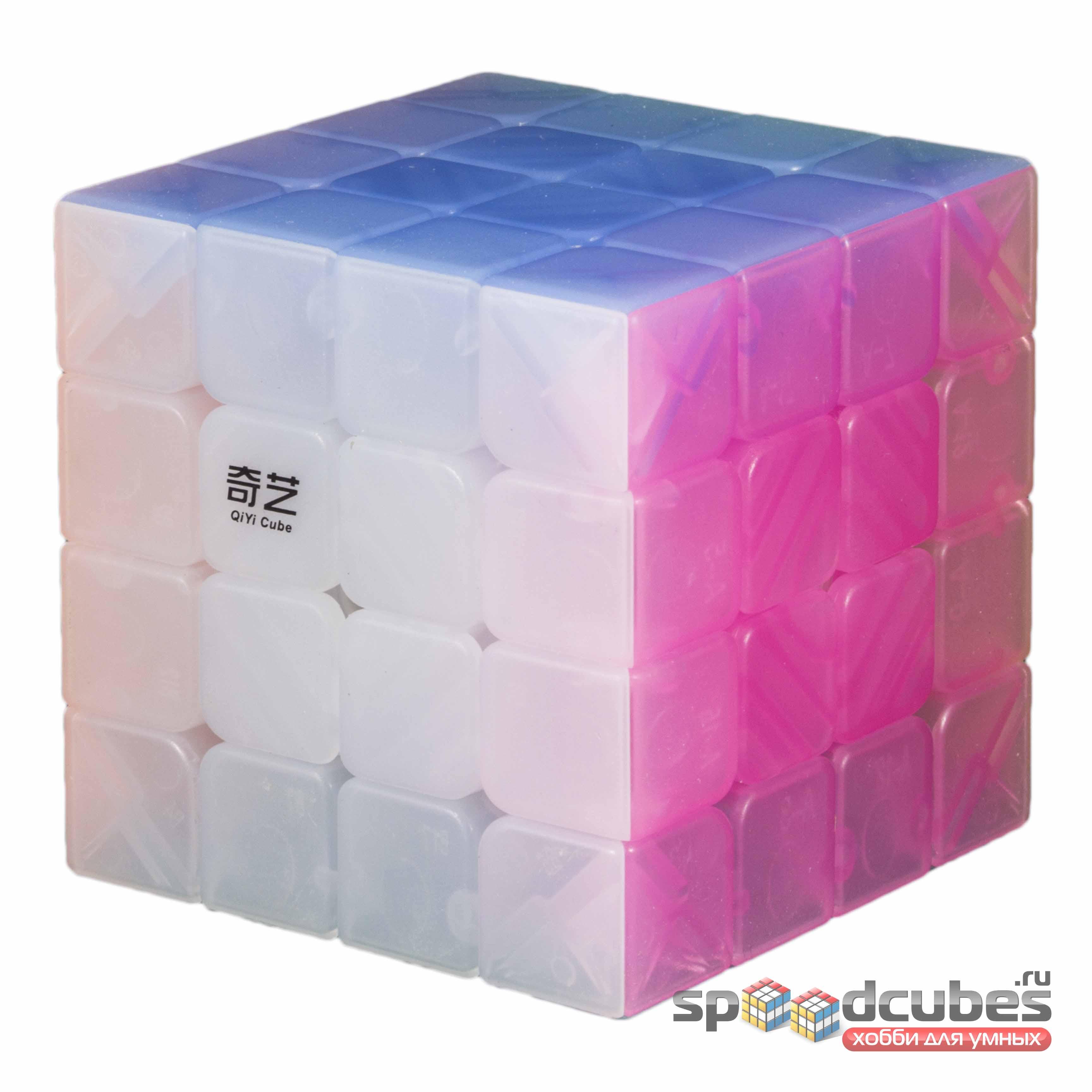 QiYi (MofangGe) 4x4x4 Jelly Cube