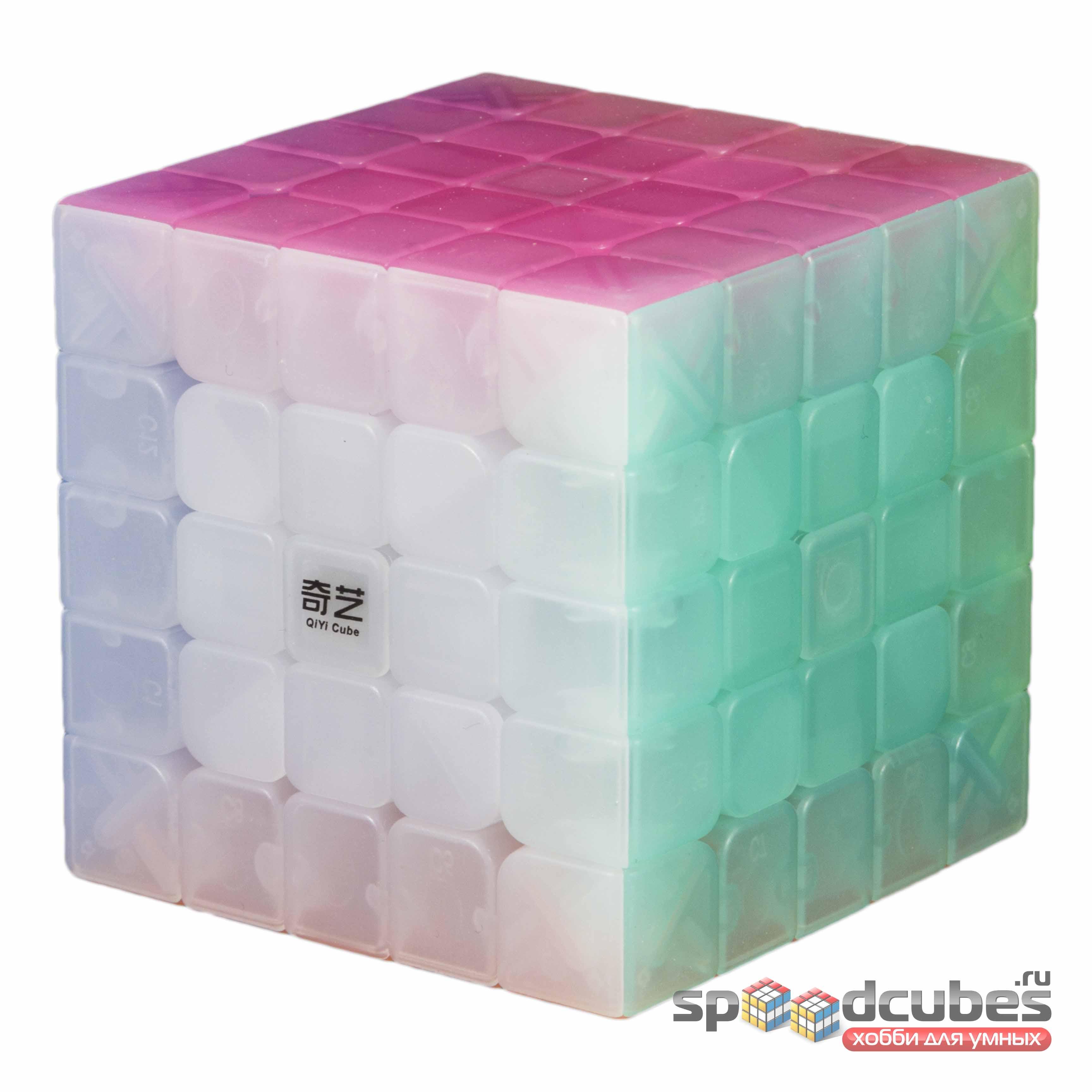 QiYi (MofangGe) 5x5x5 Jelly Cube