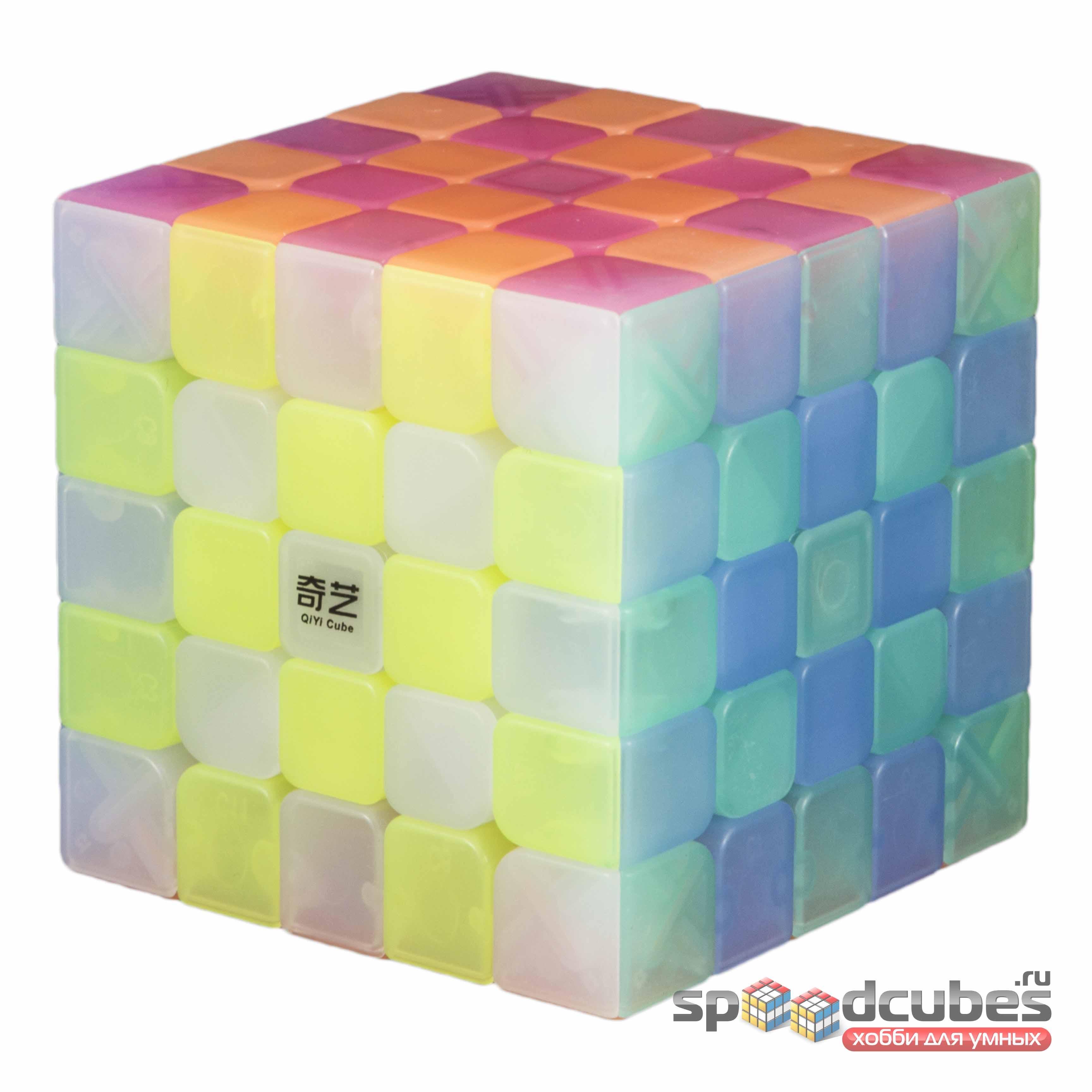 QiYi (MoFangGe) 5x5x5 Jelly Cube 3