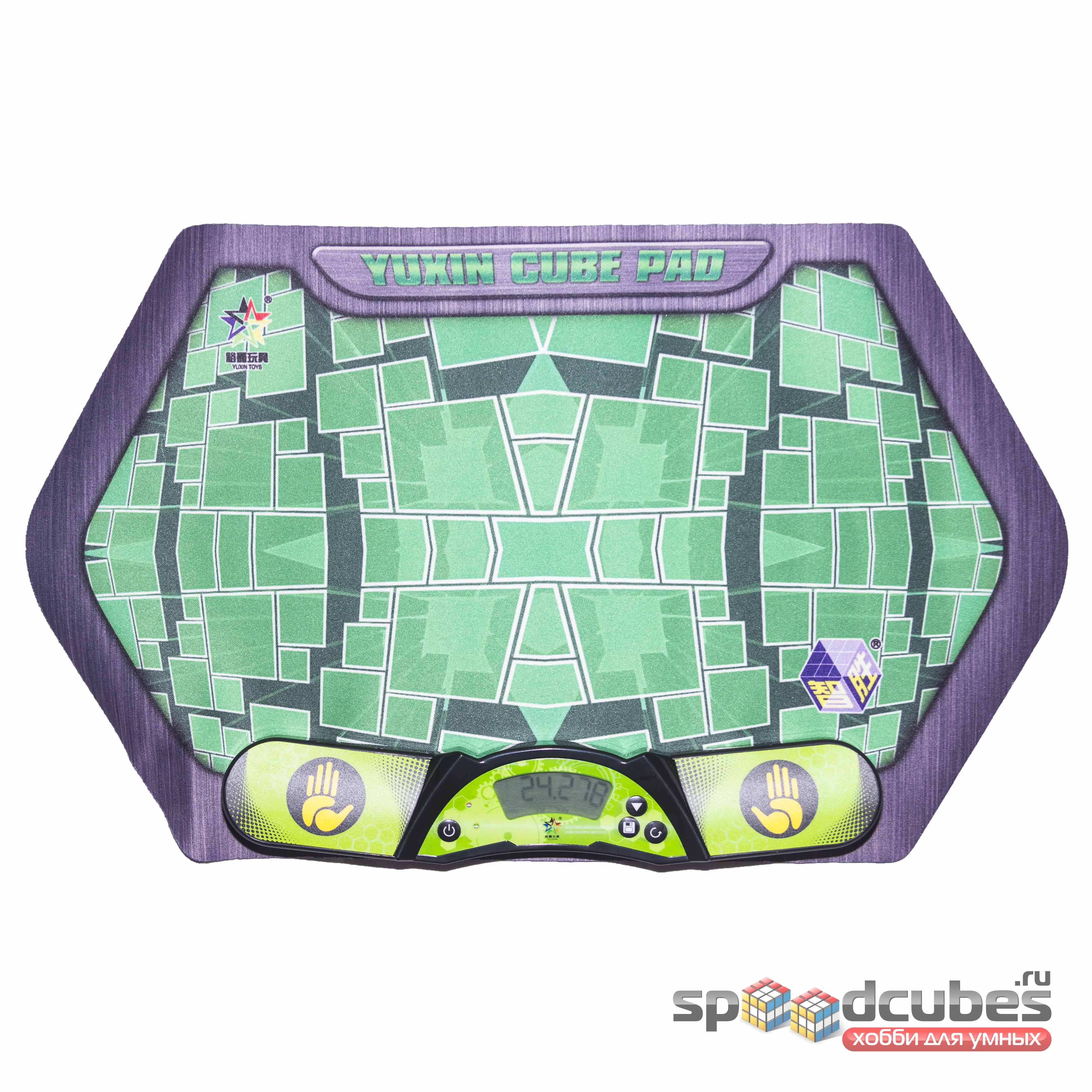 Комплект таймер YuXin V2  и мат Yuxin Cube Pad для спидкубинга