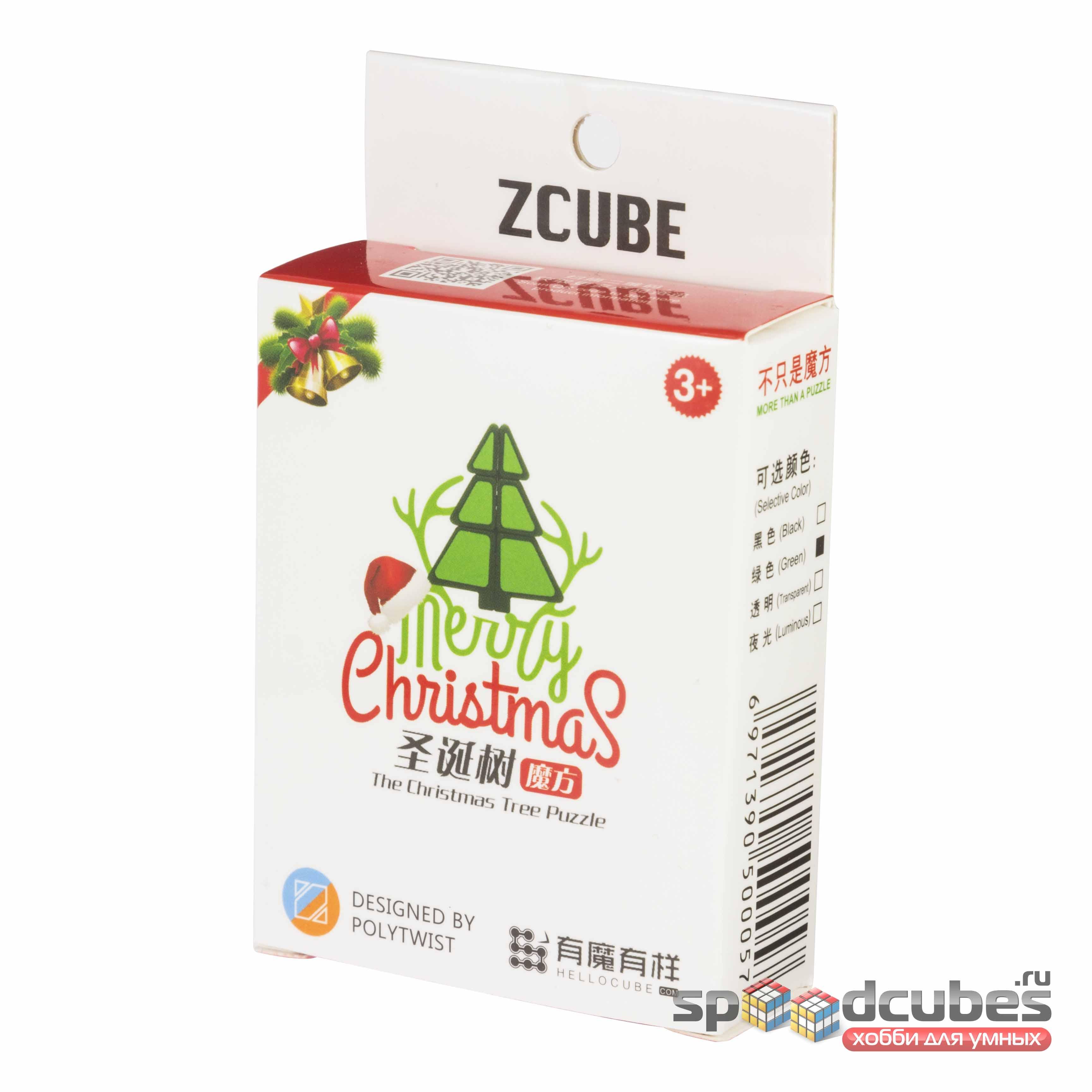 Ёлочка Z Cube Christmas Tree 1