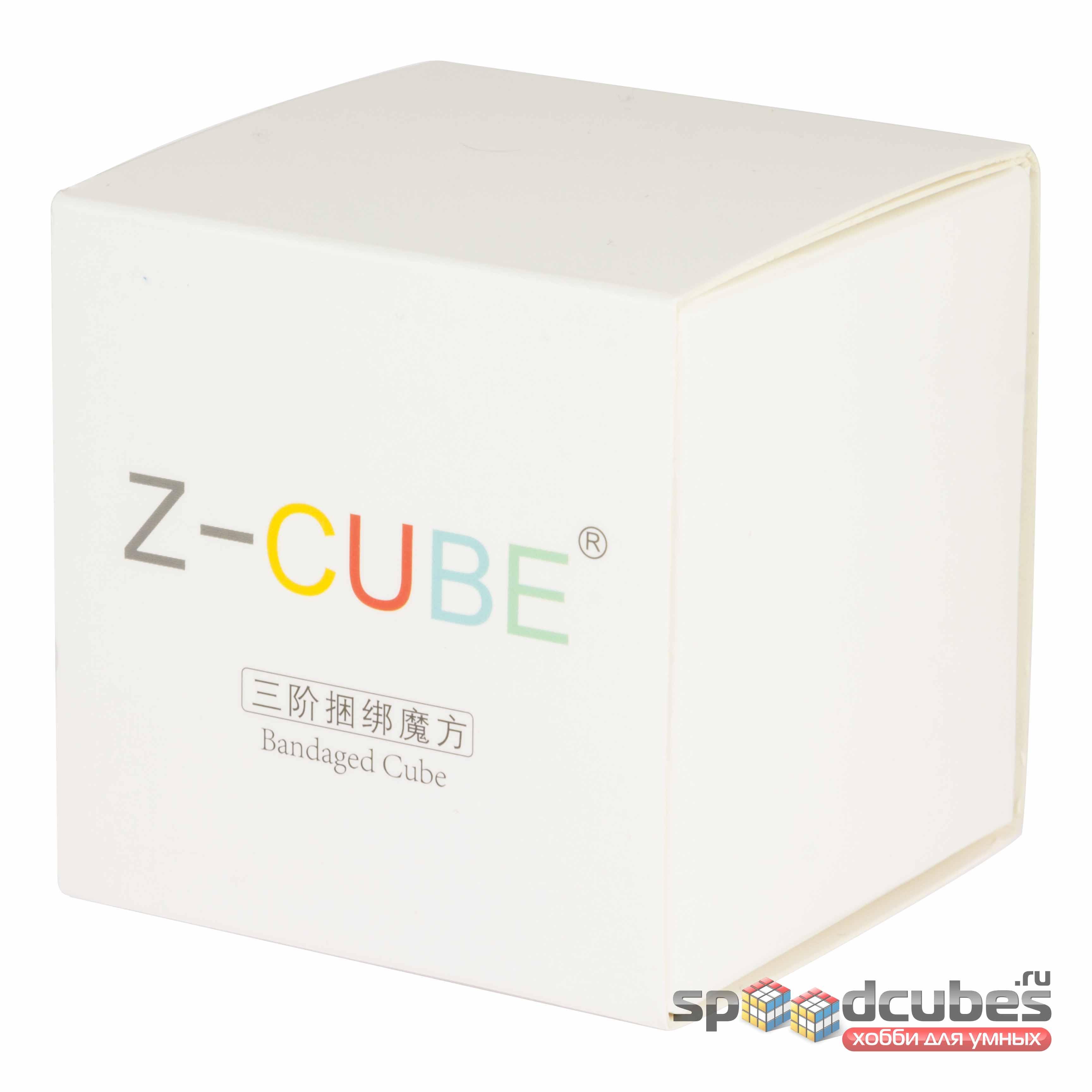 Z Bandaged Cube Box