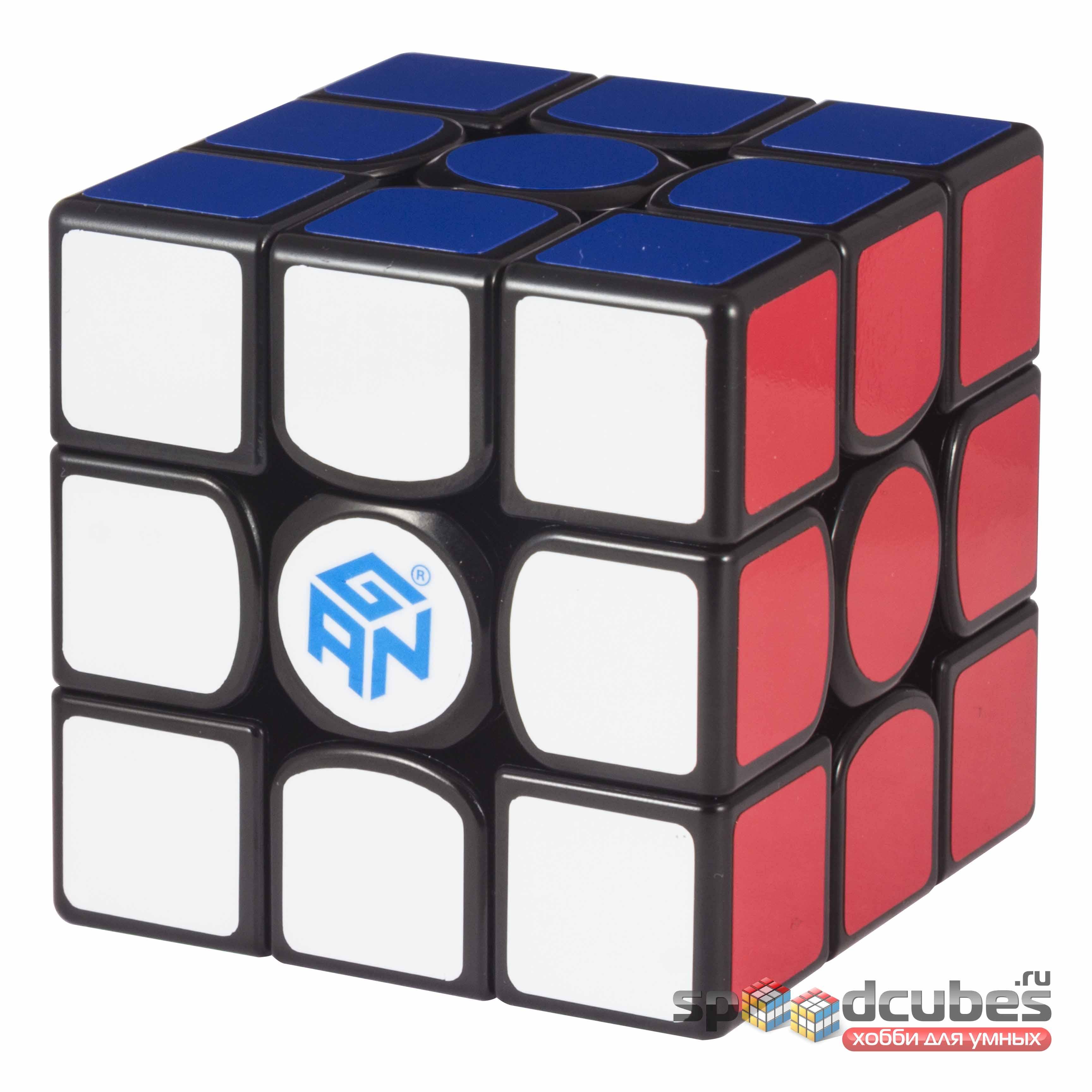 Gan 356 X 3x3x3 Numerical IPG Black 3