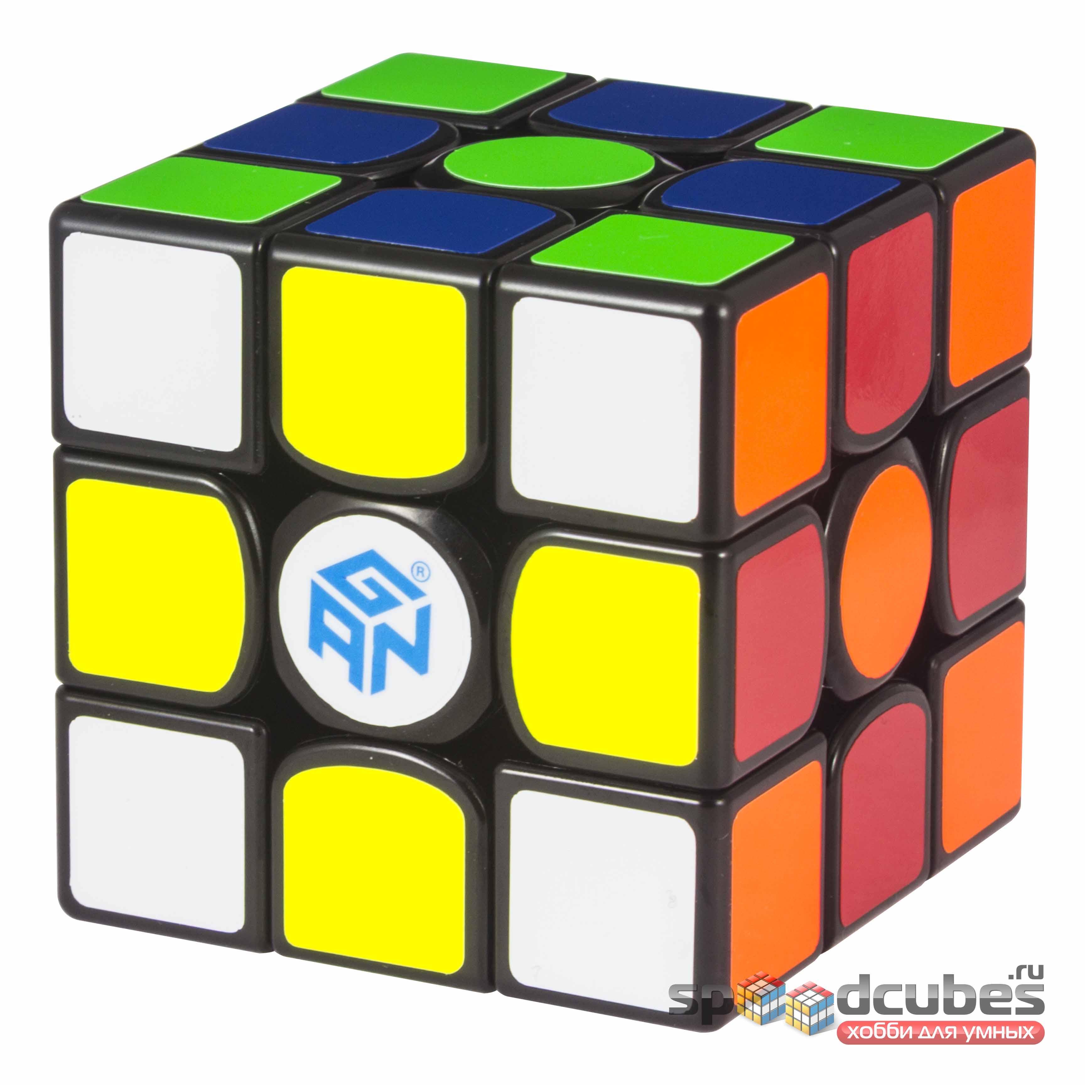 Gan 356 X 3x3x3 Numerical IPG Black 4