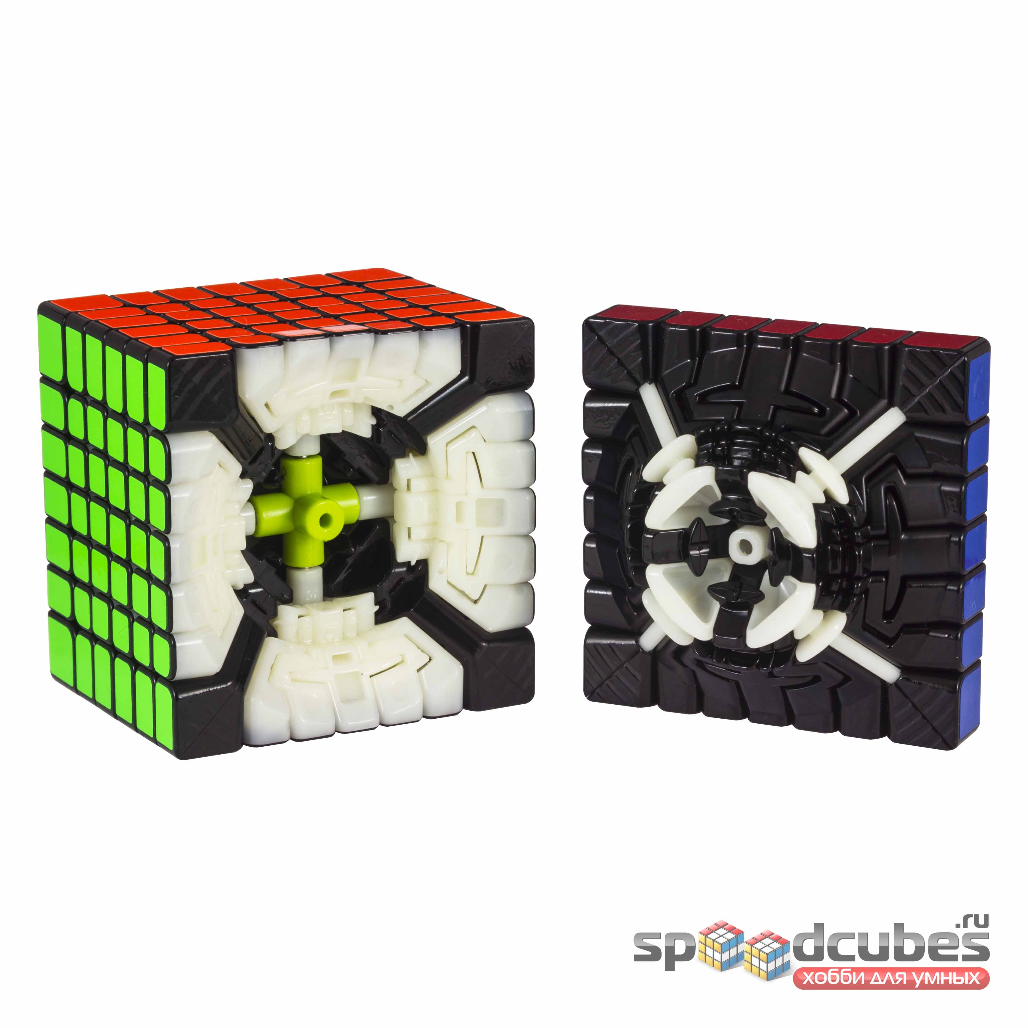 QiYi (MoFangGe) 7x7x7 Spark M Black 1