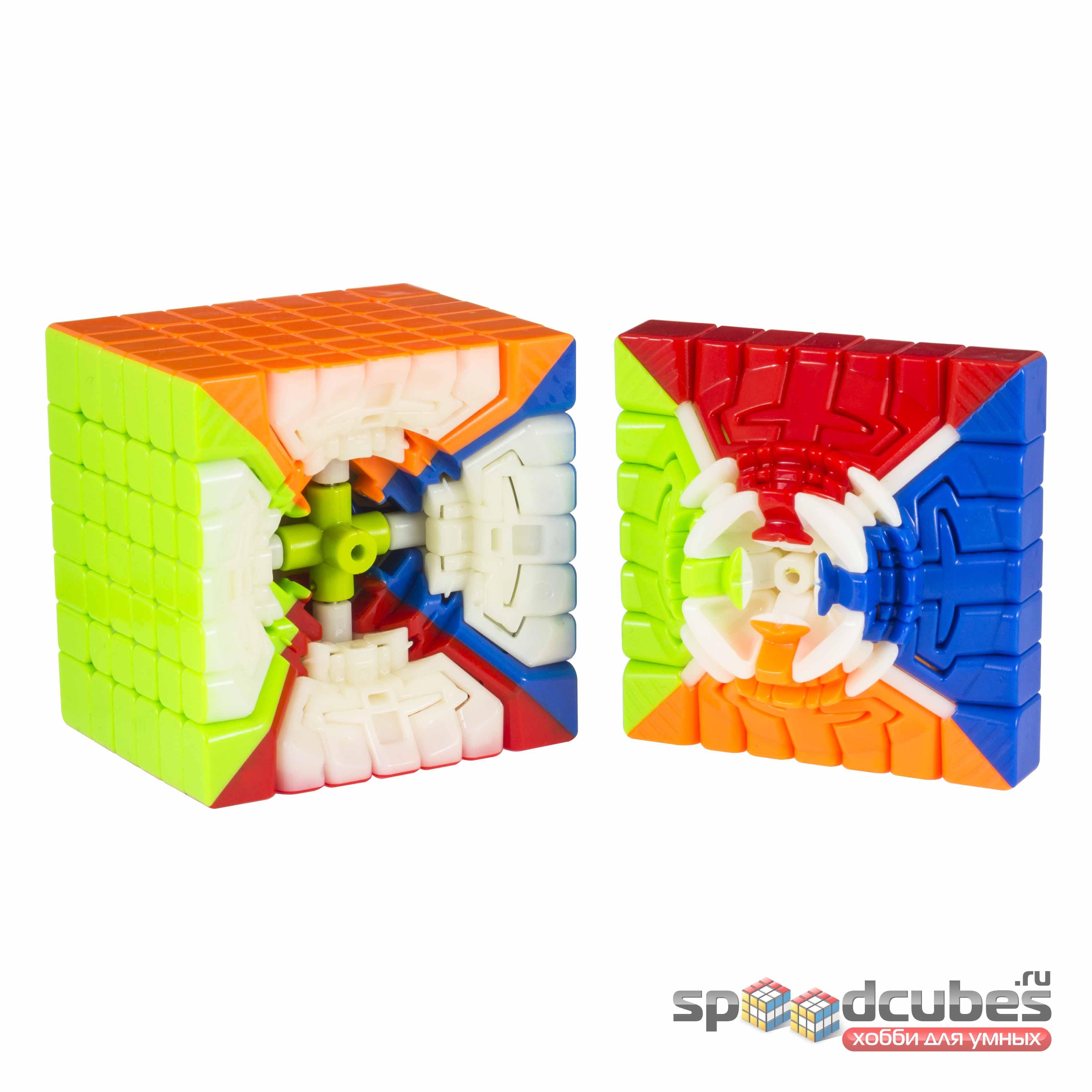 QiYi (MoFangGe) 7x7x7 Spark M Color 4
