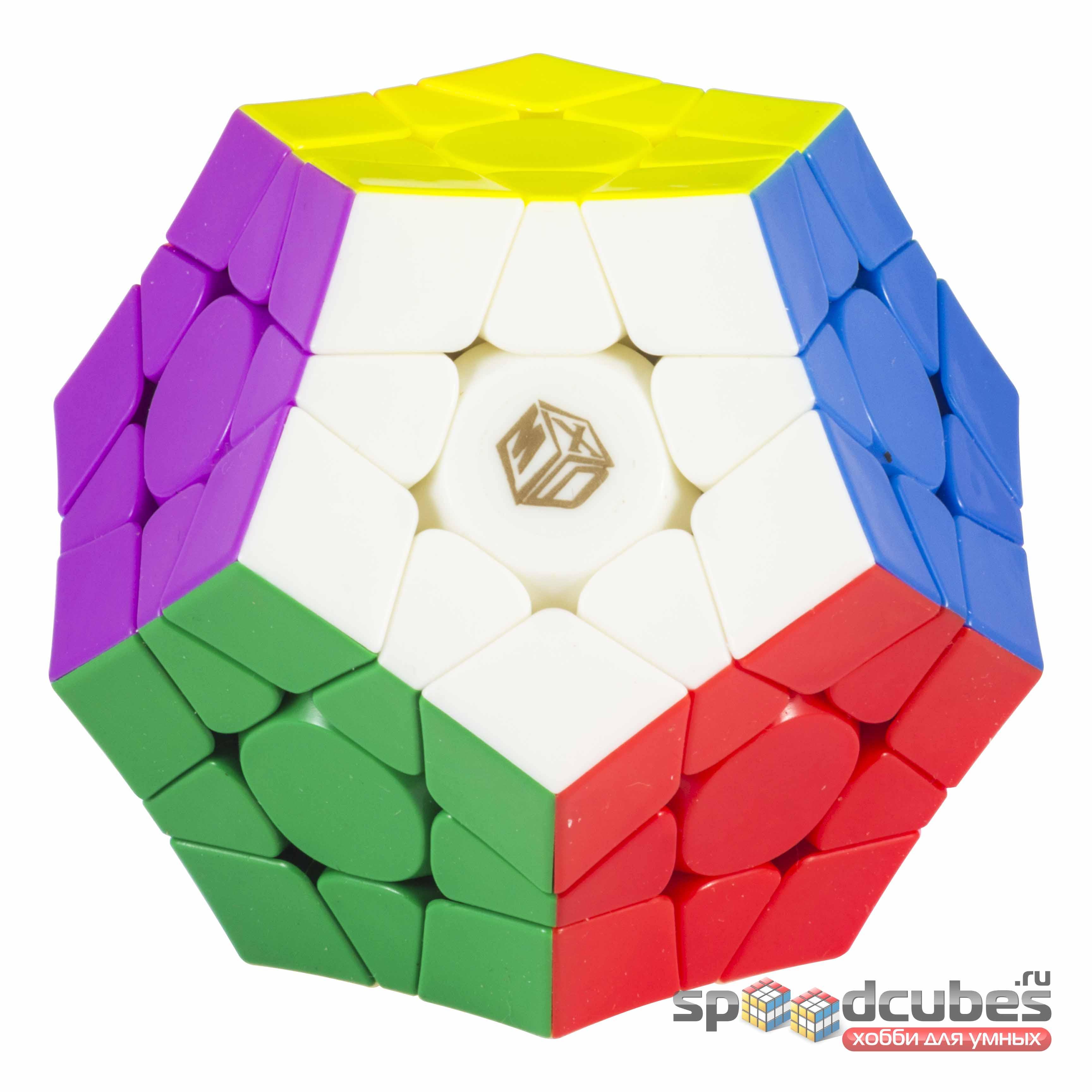 QiYi (MoFangGe) X Man Galaxy Concave Megaminx V2 M Color 2