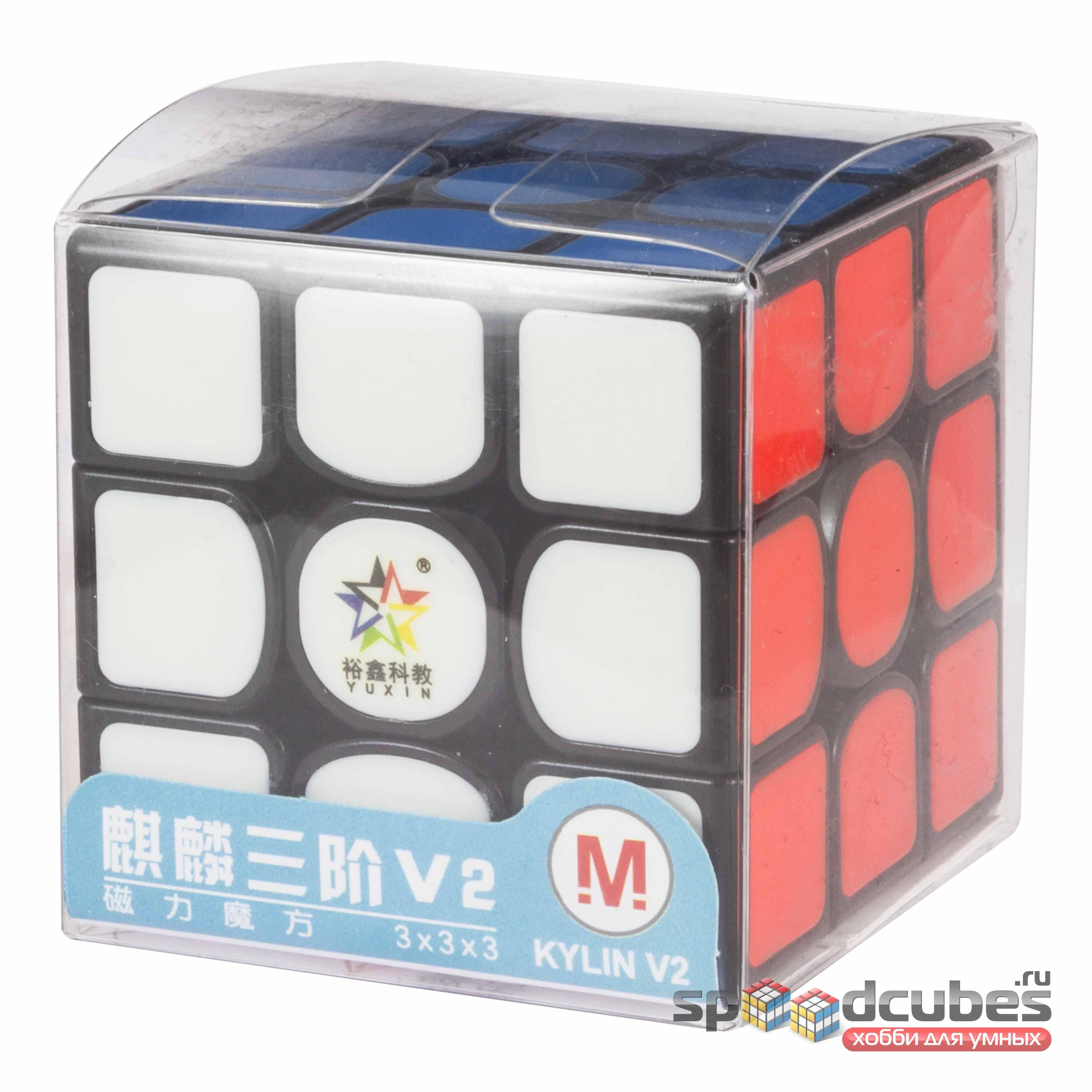 Yuxin 3x3x3 Kylin V2 M Black 1