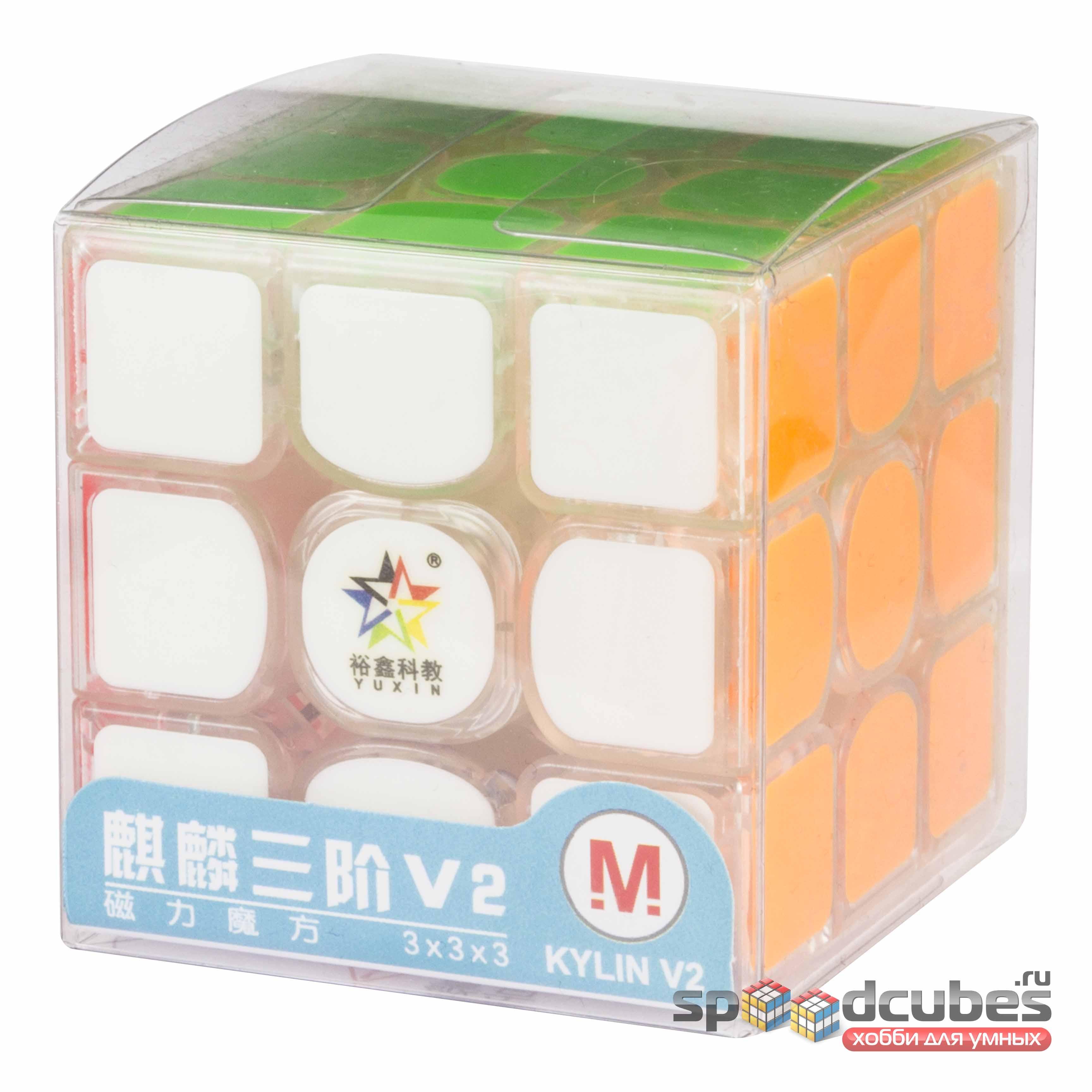 Yuxin 3x3x3 Kylin V2 M Transparent 1