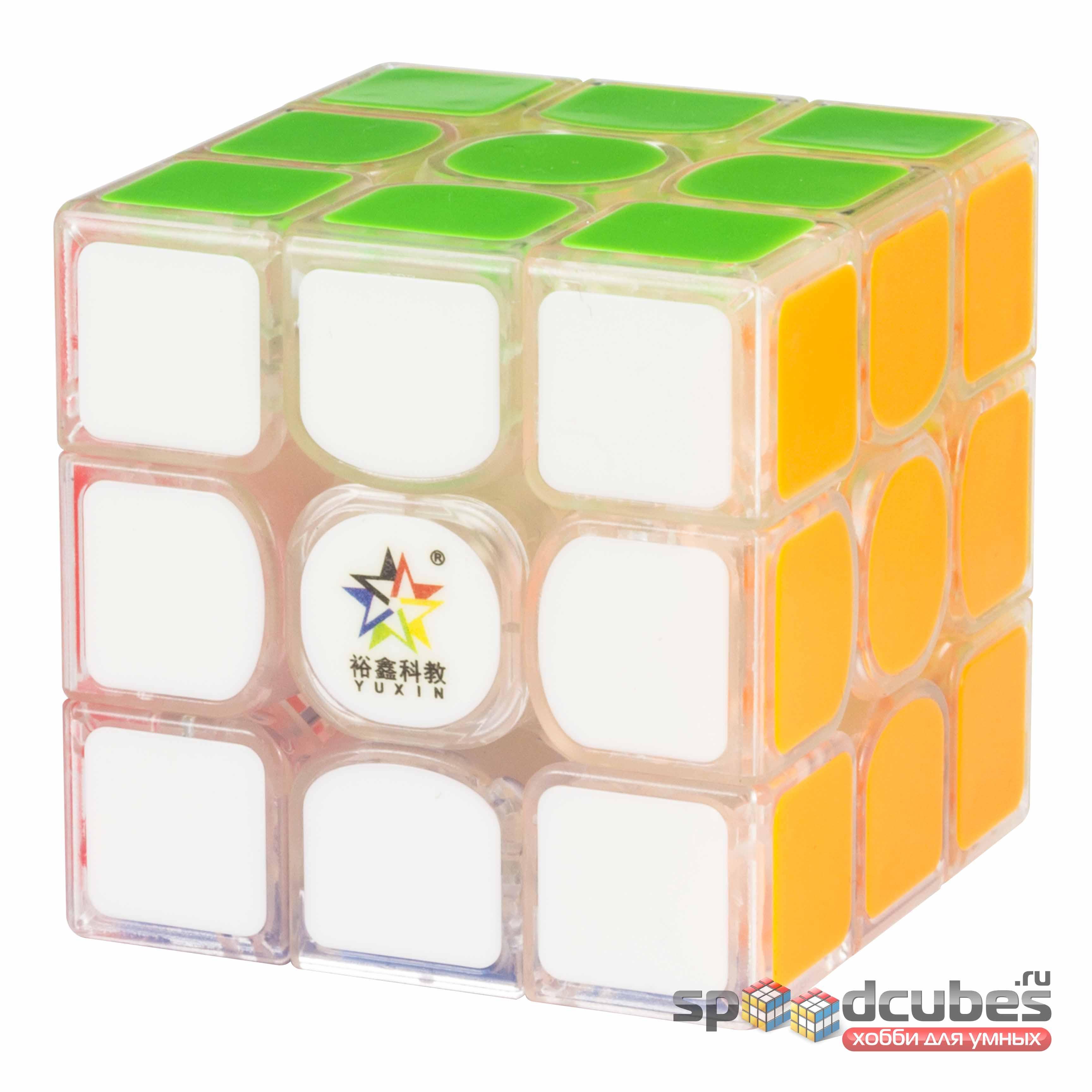 Yuxin 3x3x3 Kylin V2 M Transparent 2