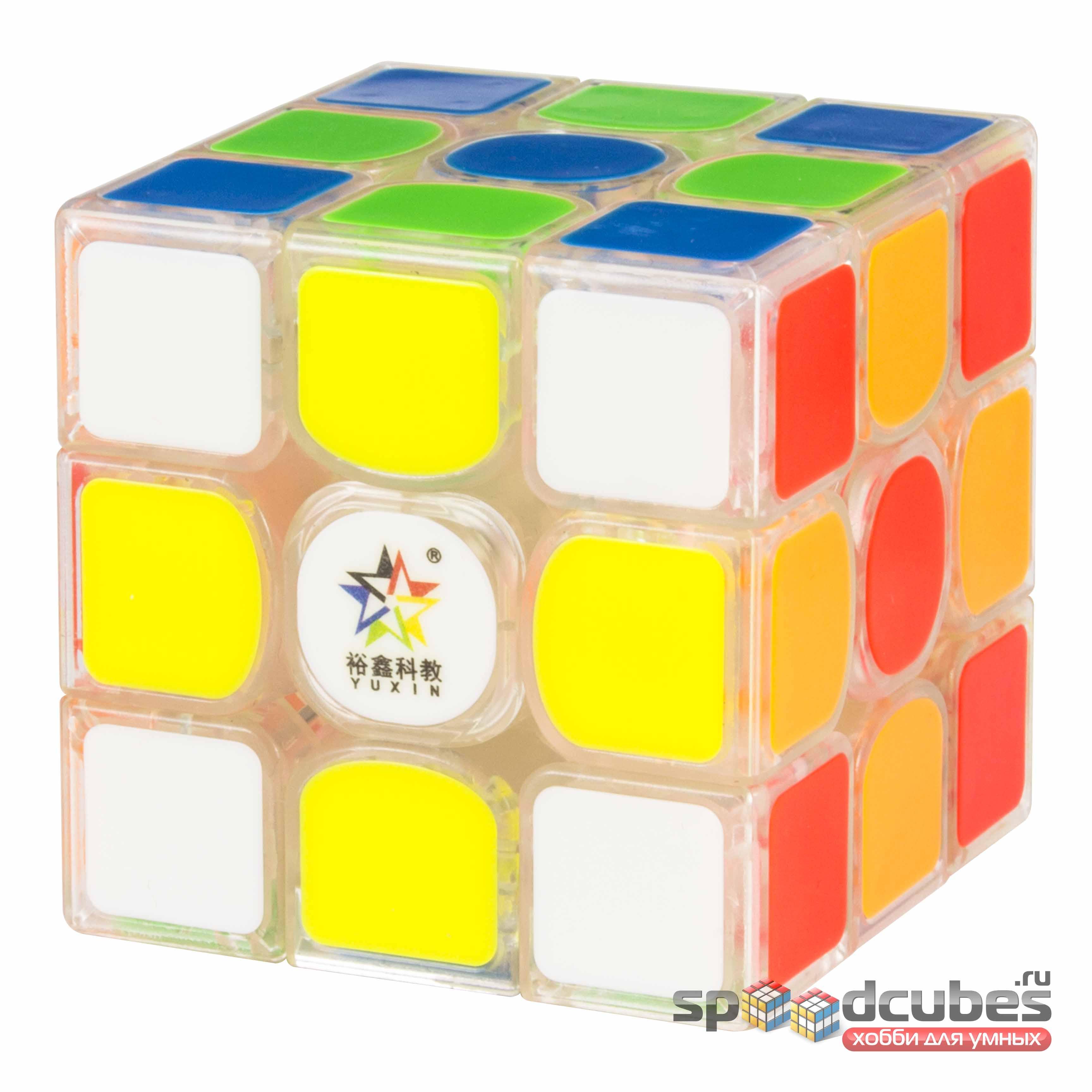 Yuxin 3x3x3 Kylin V2 M Transparent 3