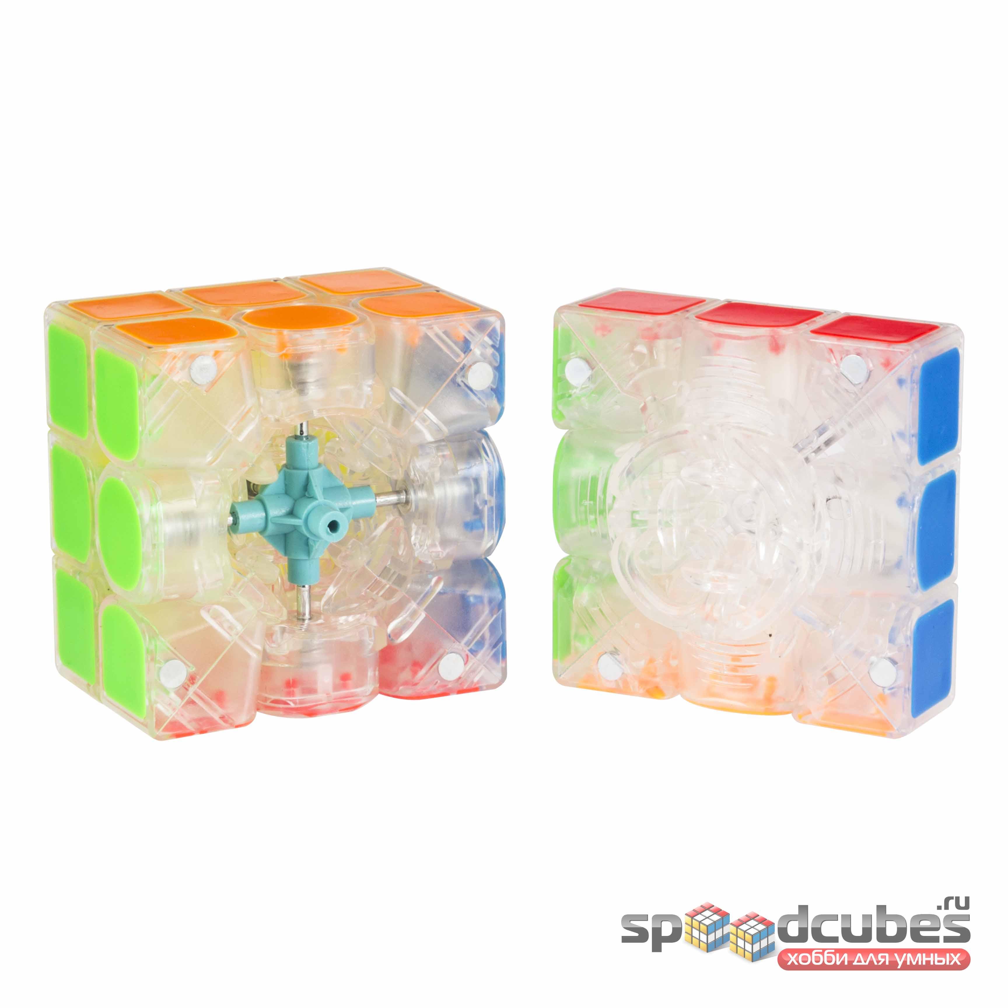 Yuxin 3x3x3 Kylin V2 M Transparent 4
