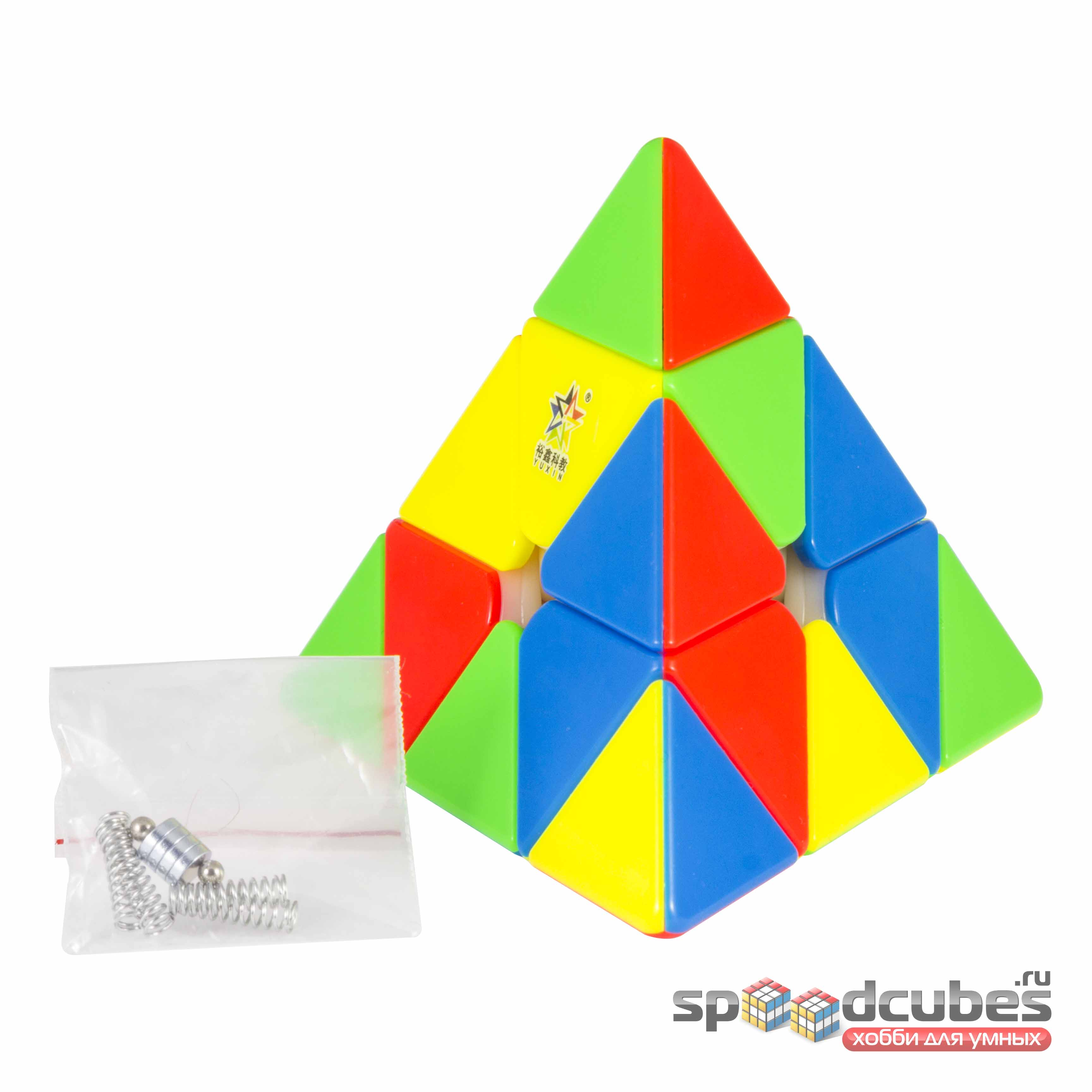 Yuxin Huanglong Pyraminx M Color 2