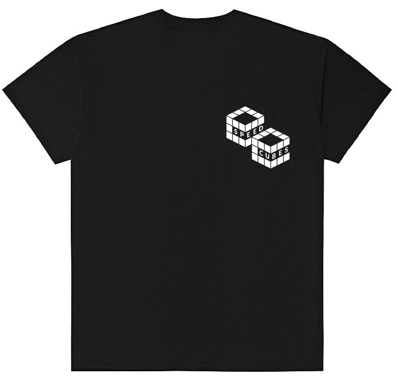 SPEEDCUBES фирменная клубная футболка