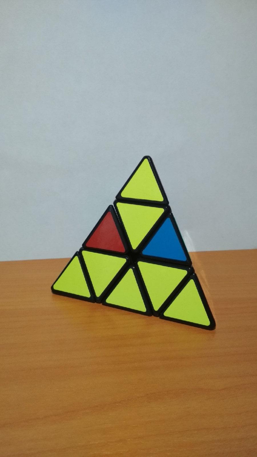 Способы сборки кубика Рубика тетраэдра