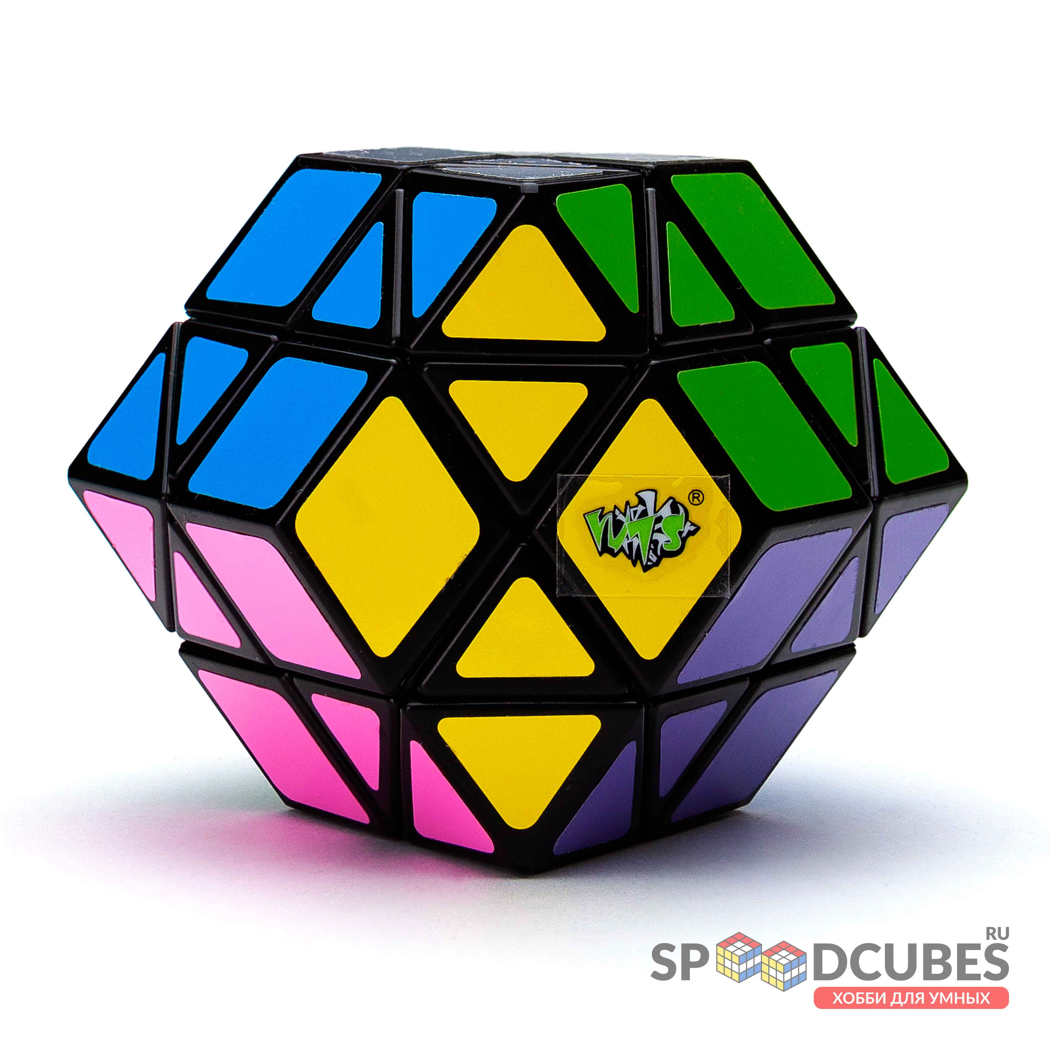 Lanlan 12-axis Dodecahedron Diamond