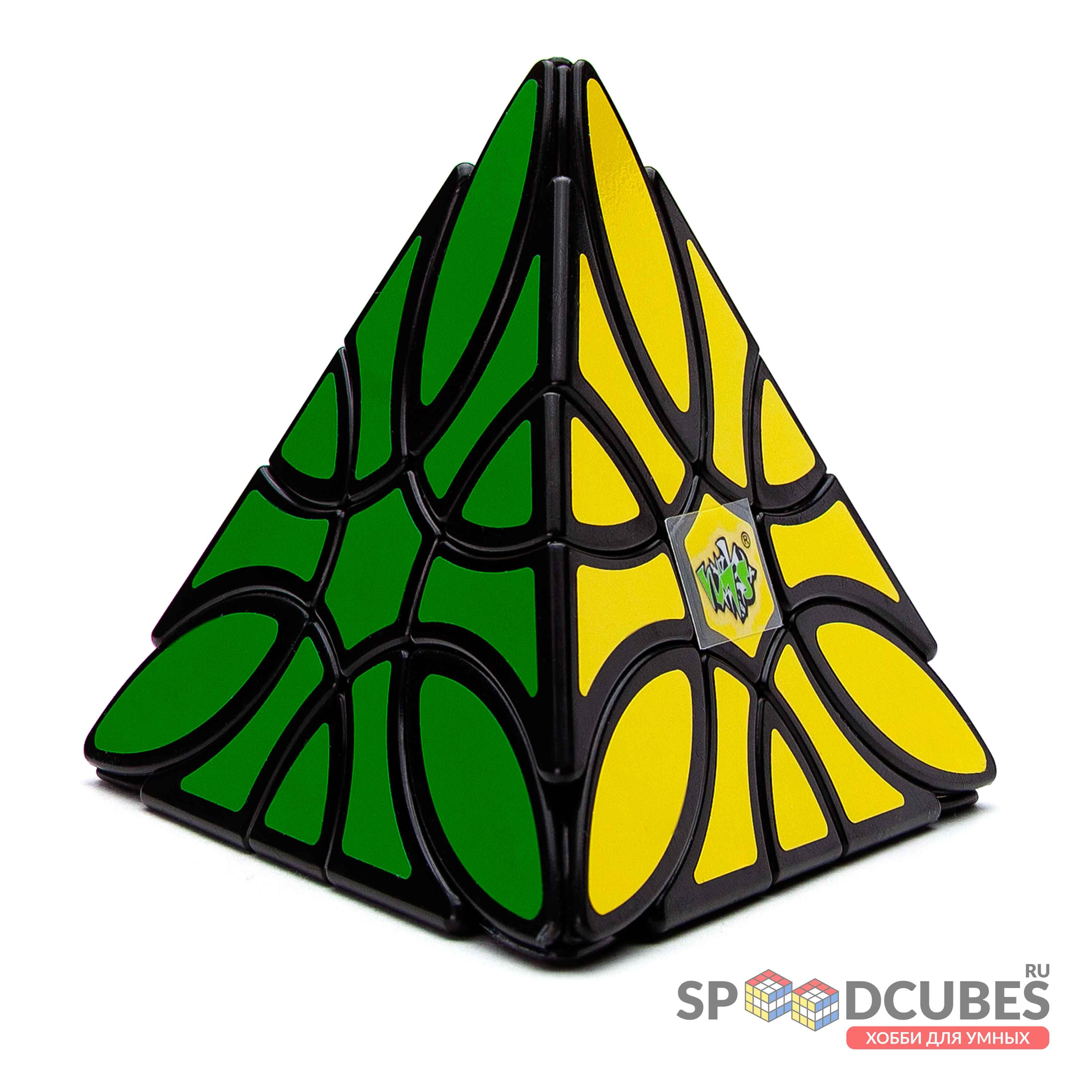 Lanlan Curvy Clover Pyraminx