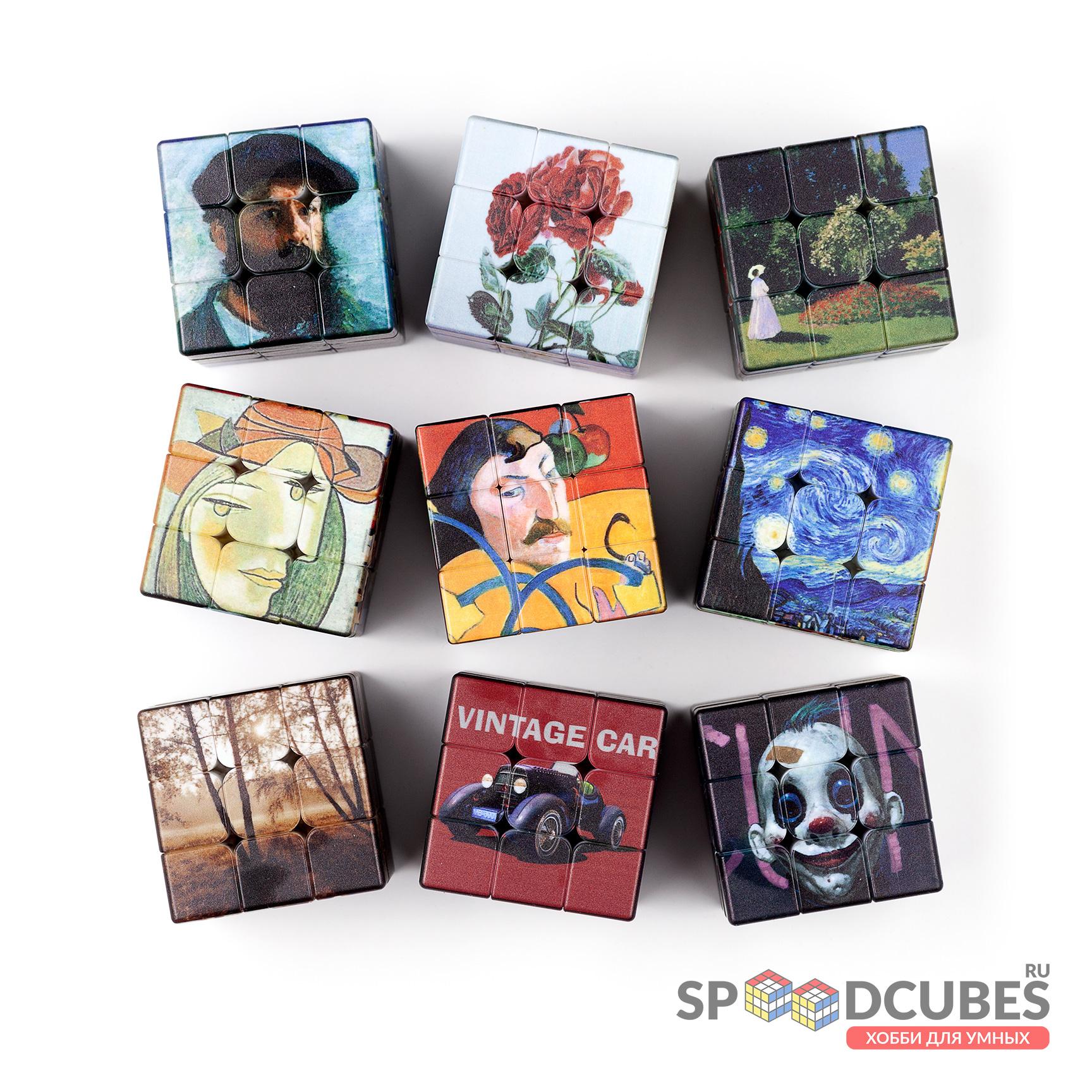 Набор Z 3×3 кубы-картины (9 шт)