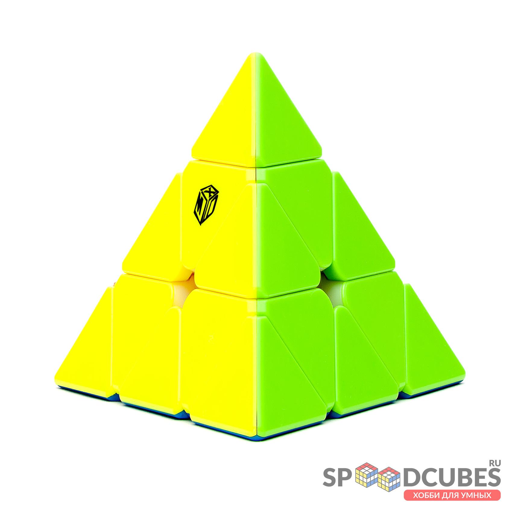 QiYi (MoFangGe) X-man Bell Pyraminx V2 M