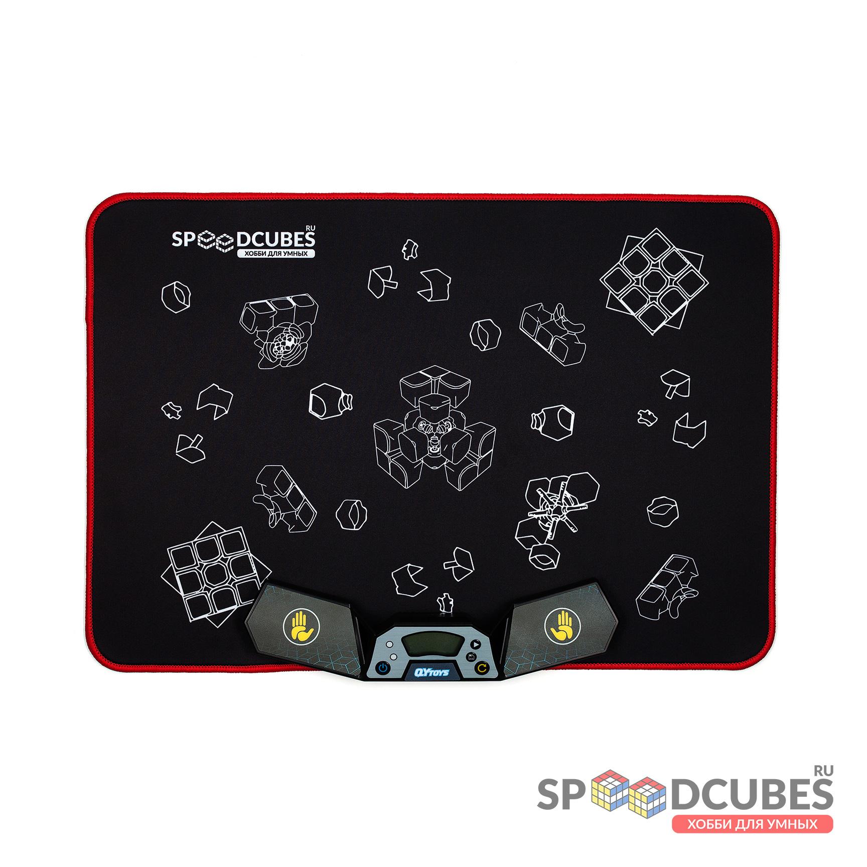 SPEEDCUBES комплект мат и QiYi (MoFangGe) таймер для спидкубинга
